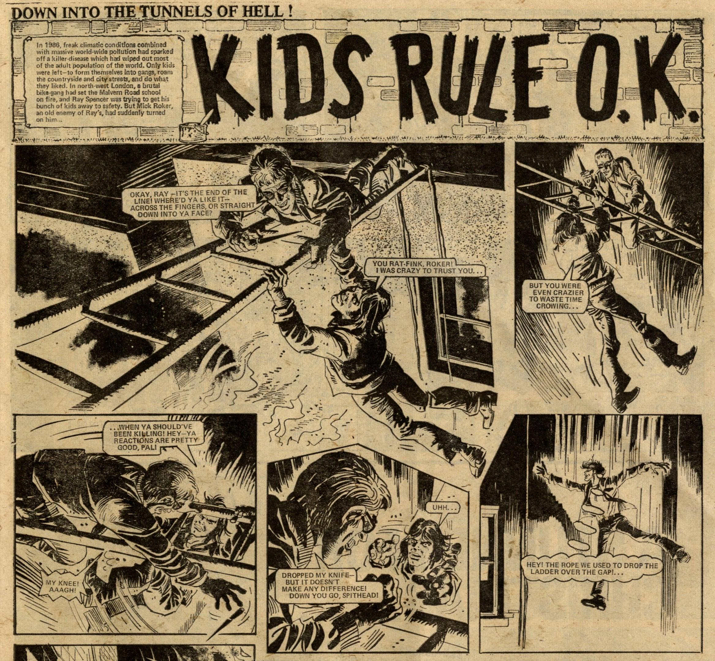 Kids Rule OK: Chris Lowder (writer), Mike White (artist)