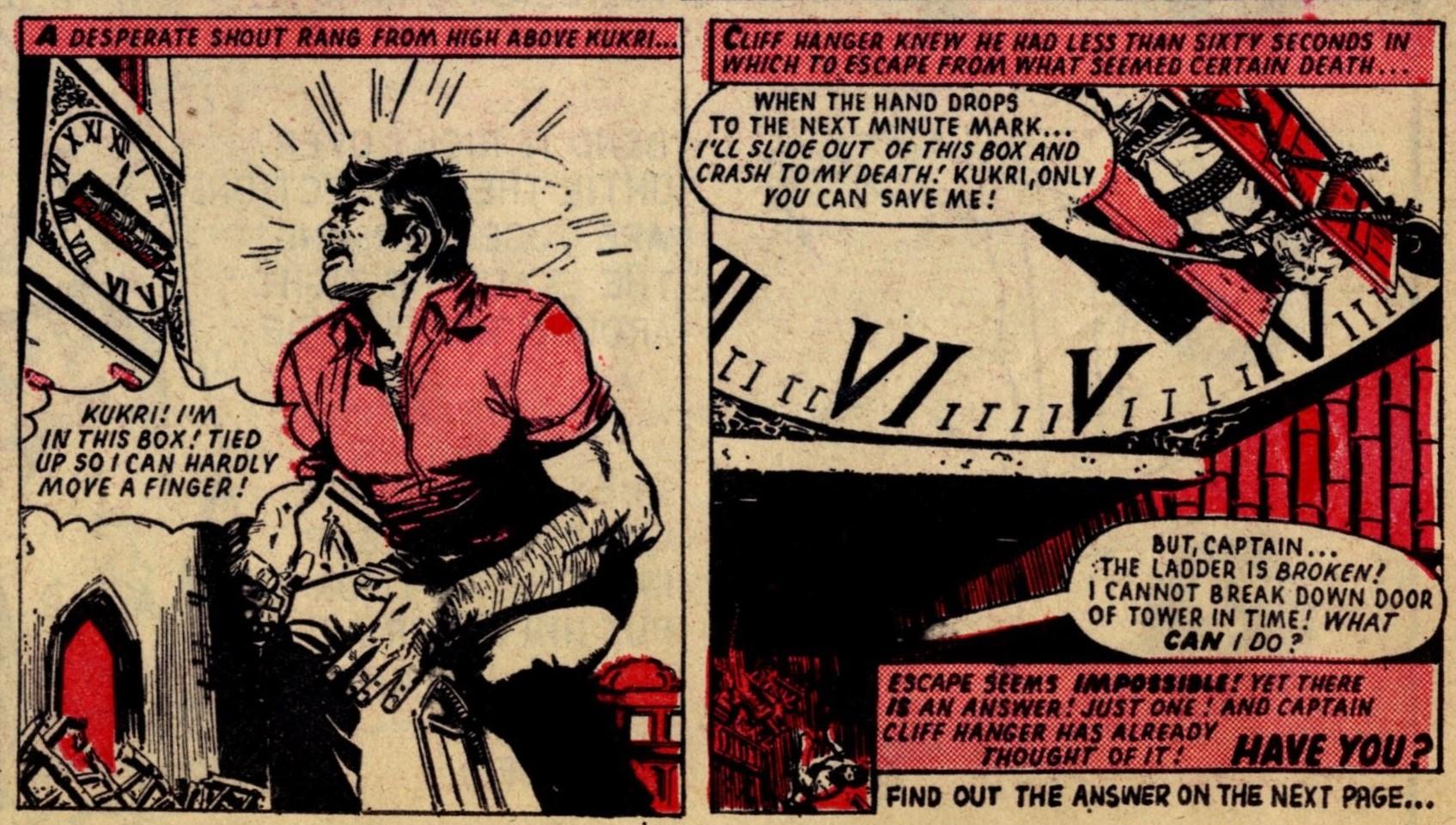 Cliff Hanger: creators unknown