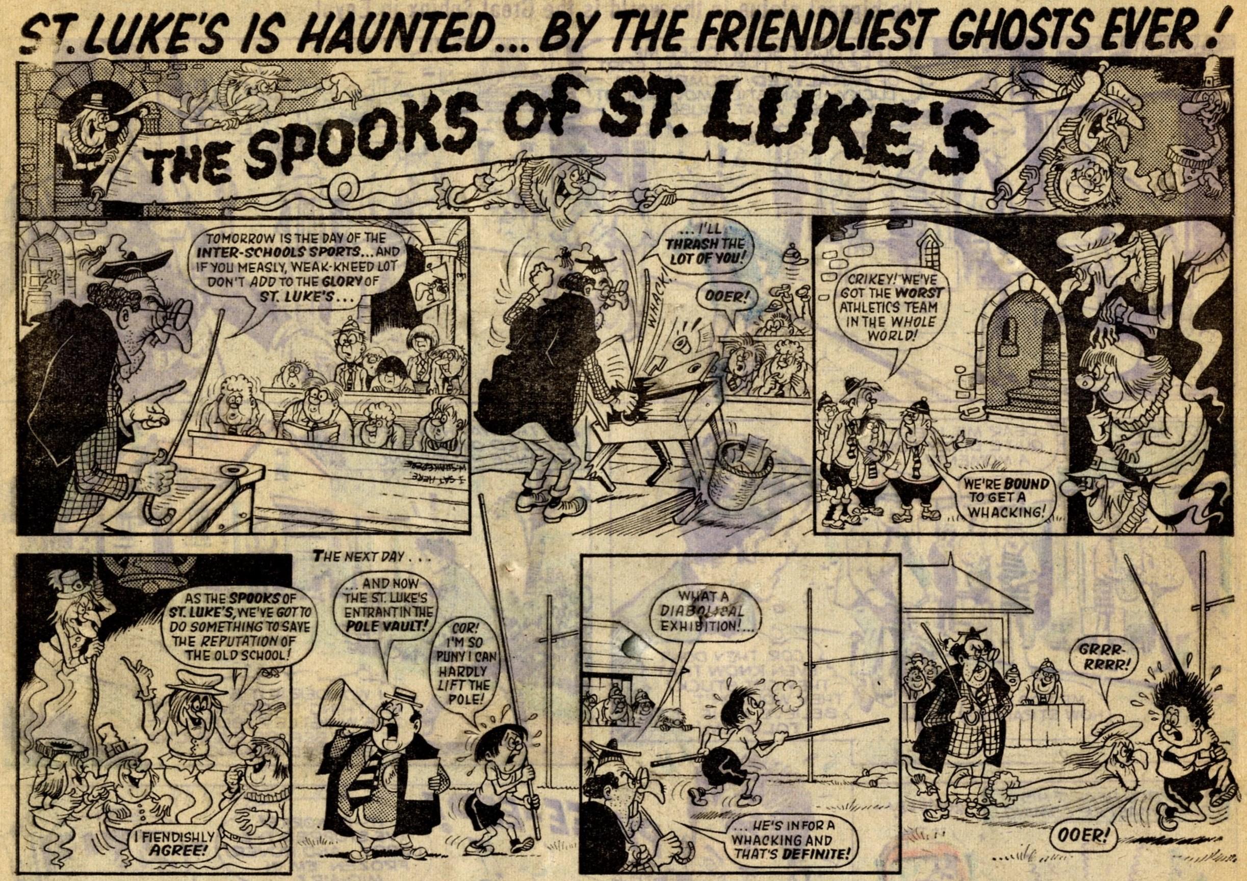 The Spooks of St Luke's: Cyril Price (artist)