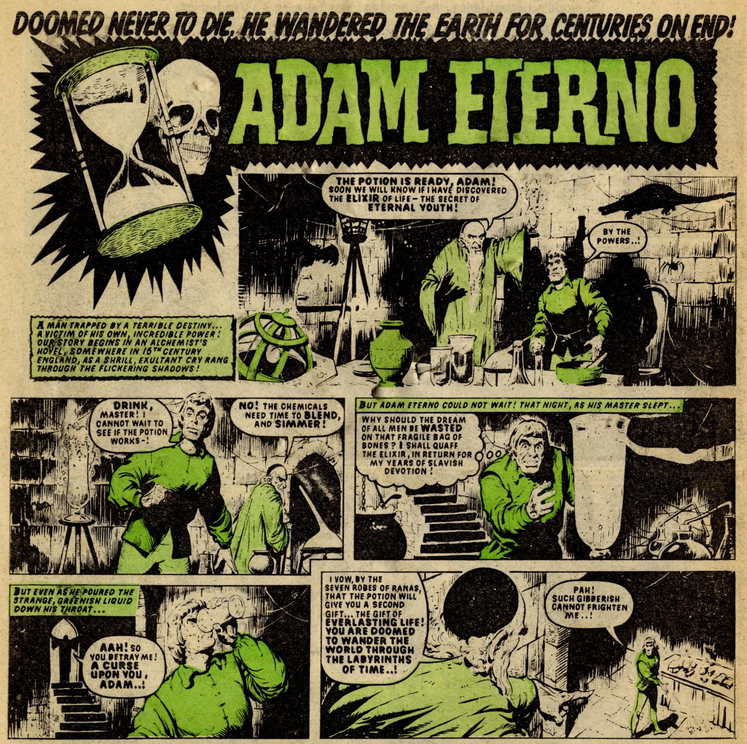 Adam Eterno: Tom Kerr (artist)