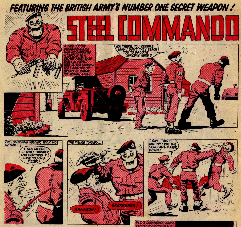 Steel Commando: Alex Henderson (artist)