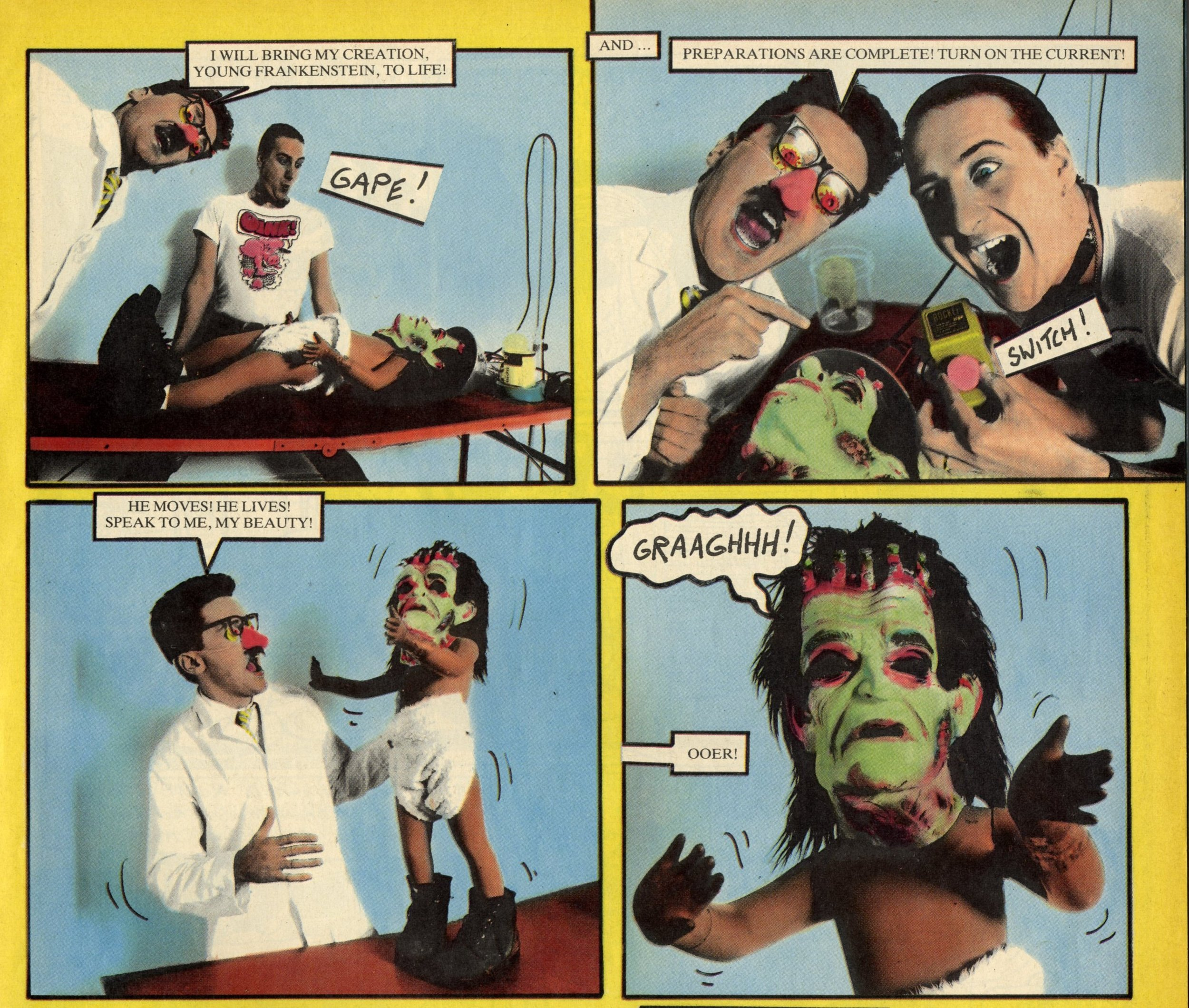 Snatcher Sam meets Young Frankenstein