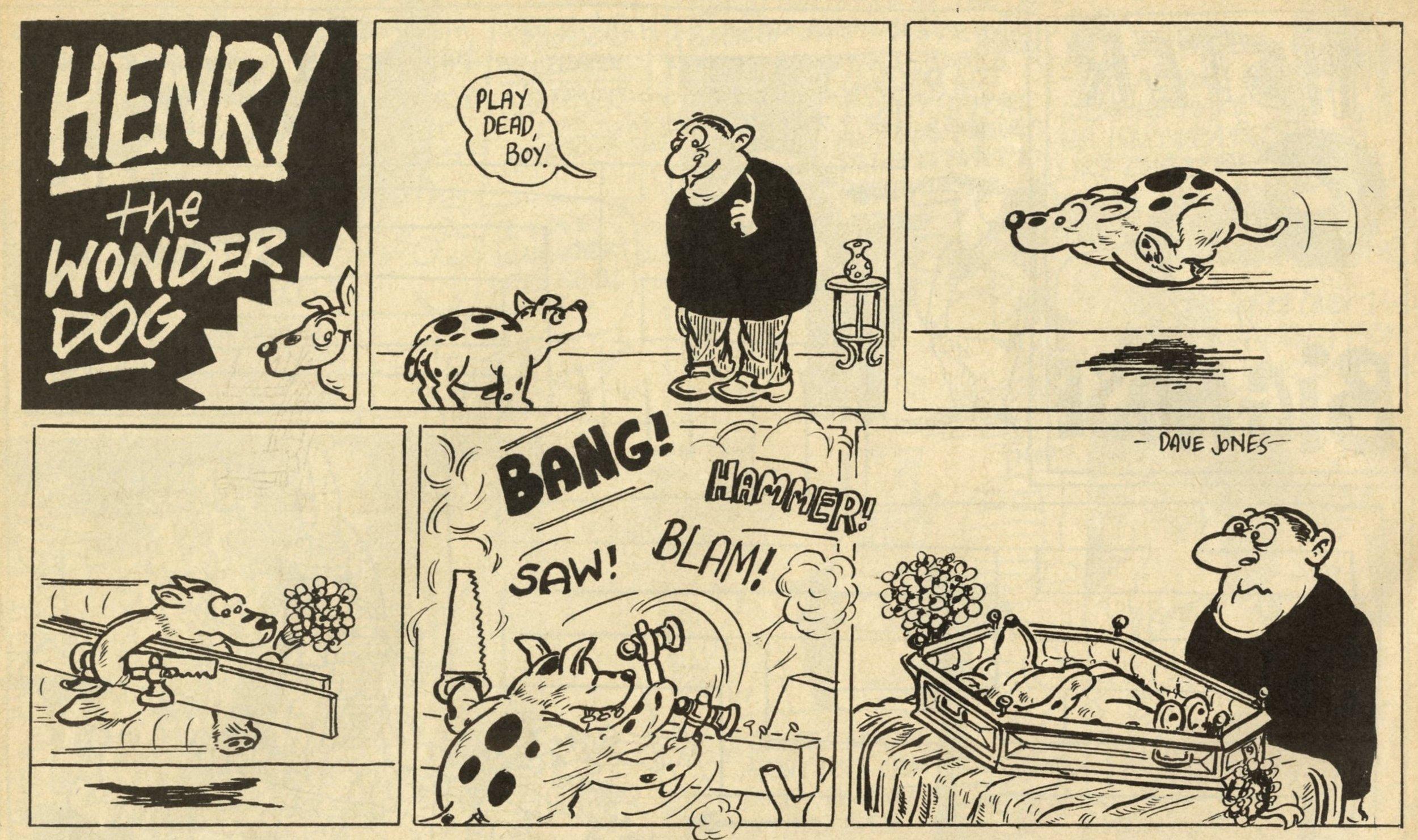Henry the Wonder Dog: Dave Jones (artist)