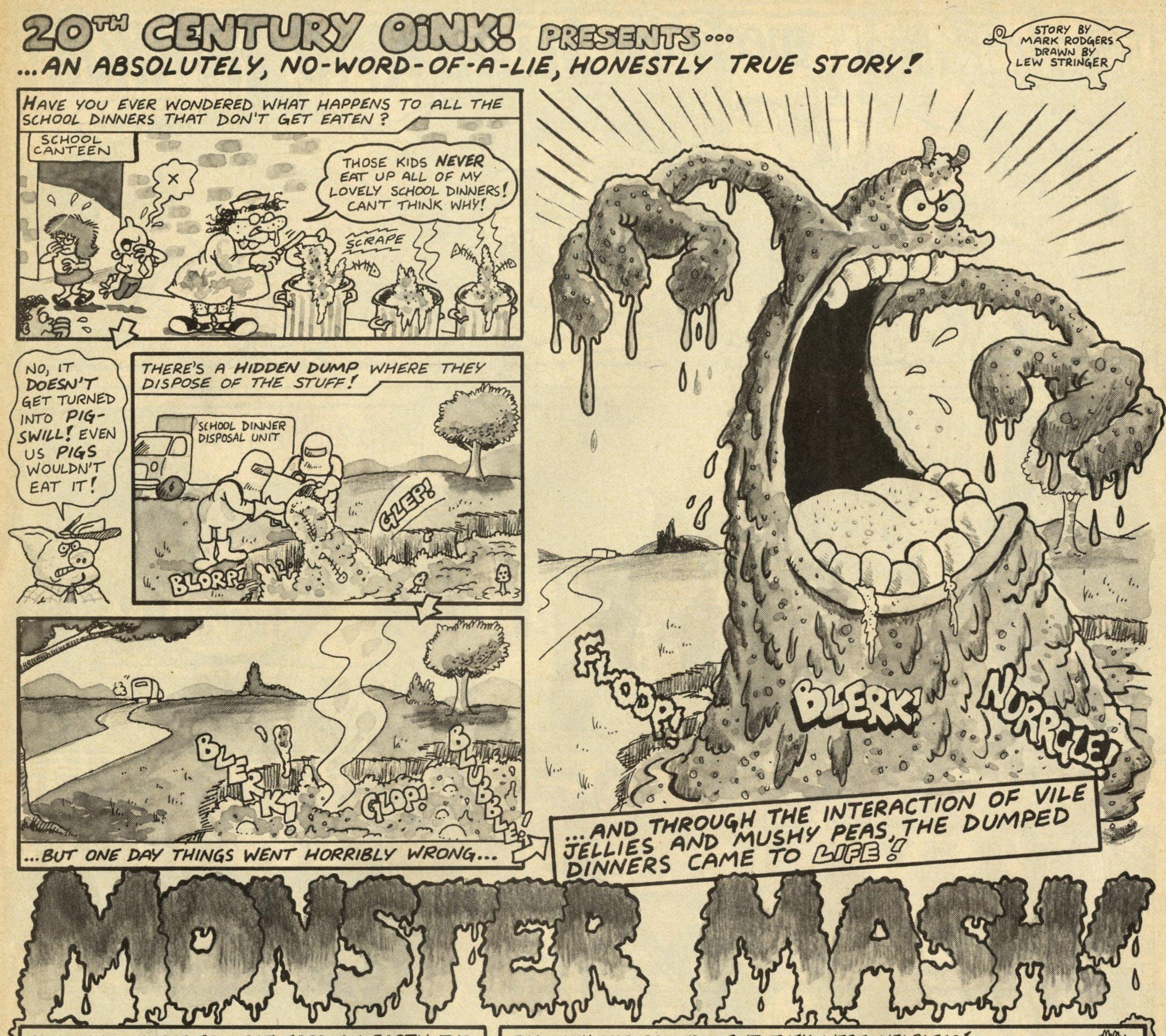 Monster Mash!: Mark Rodgers (writer), Lew Stringer (artist)
