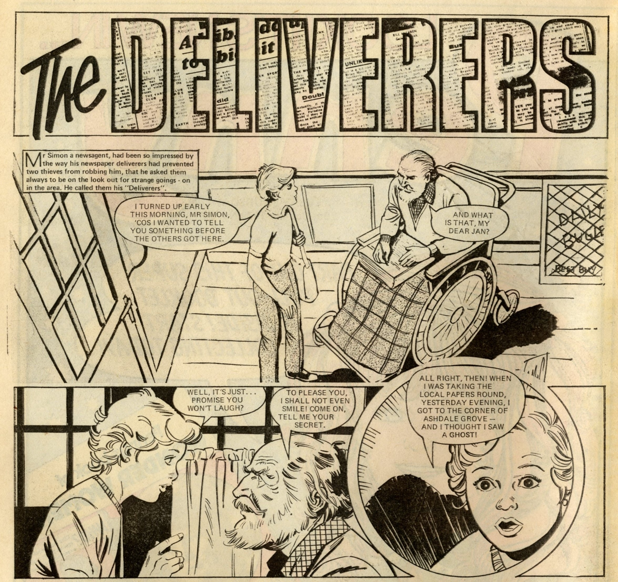 The Deliverers:   Rodrigo Comos (artist)