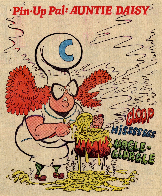 Pin-up Pal: Auntie Daisy (artist Frank McDiarmid), 1 April 1978