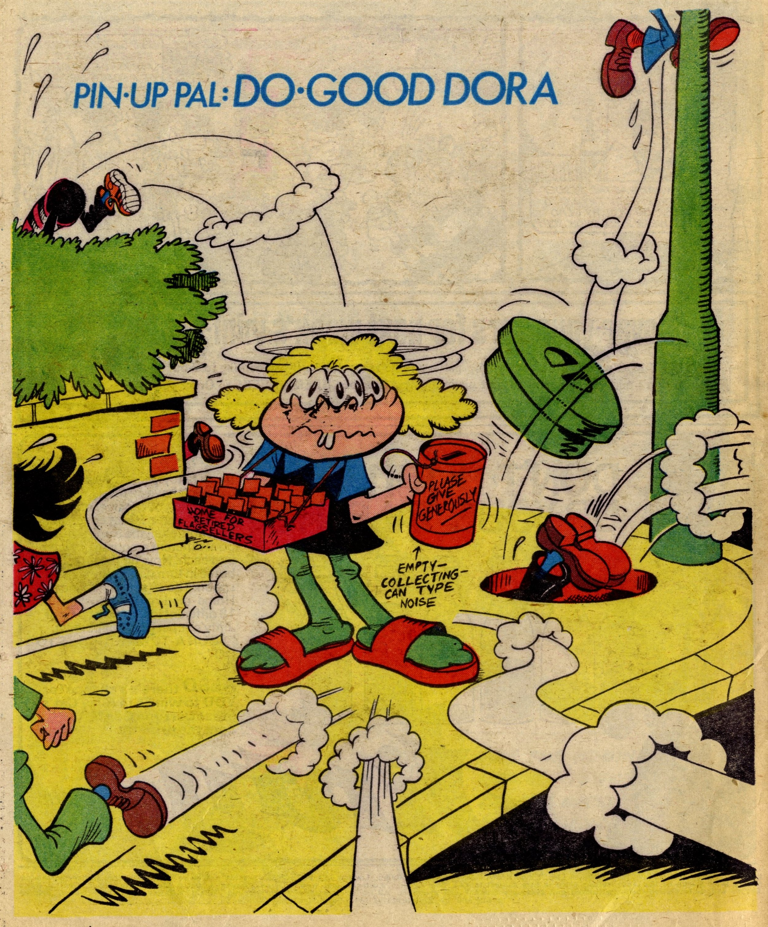 Pin-up Pal: Do-good Dora (artist Frank McDiarmid), 10 June 1978