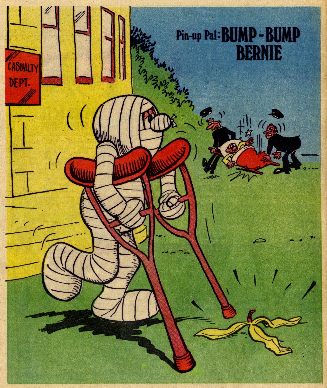 Pin-up Pal: Bump-bump Bernie (artist Frank McDiarmid), 29 July 1978