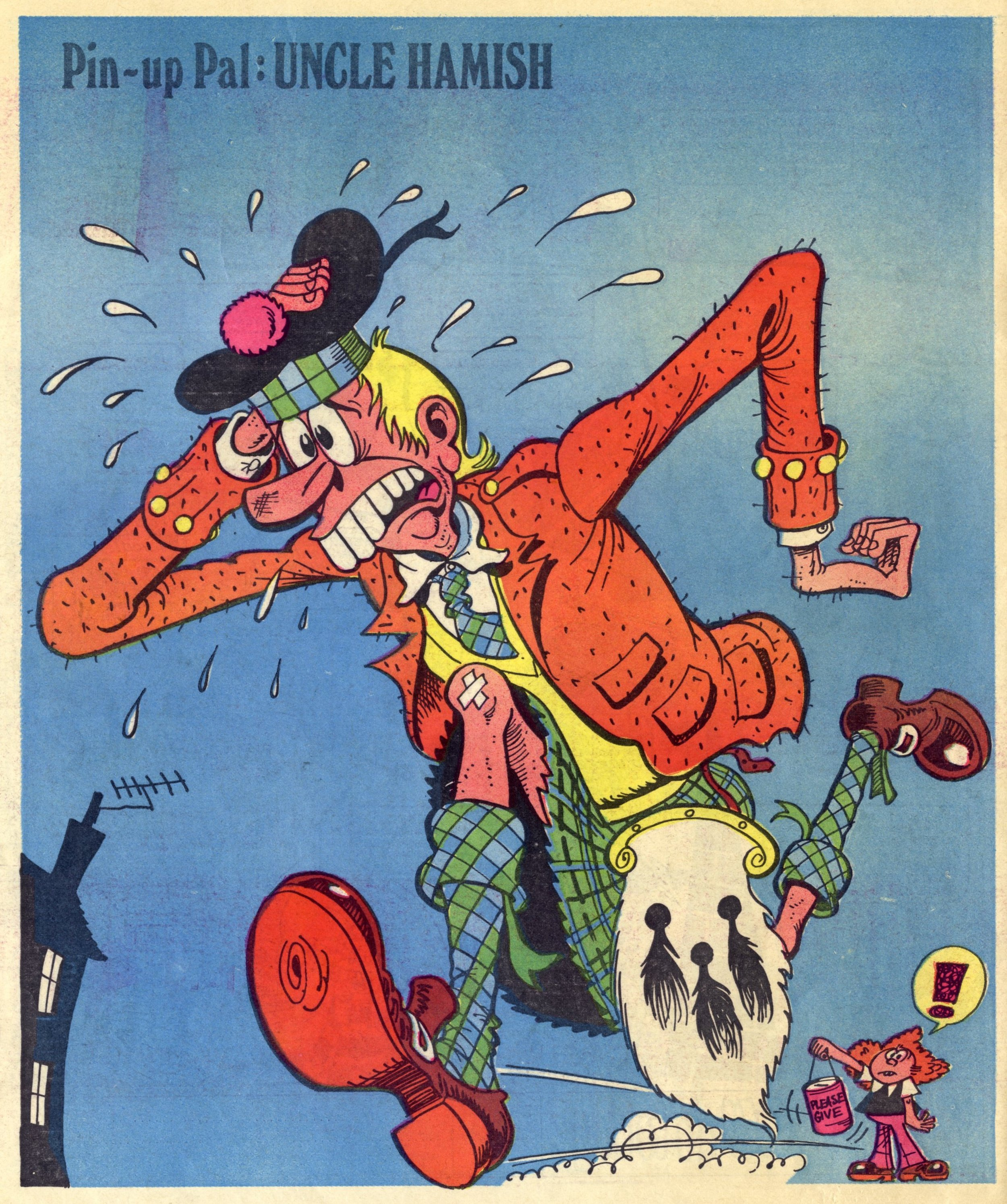 Pin-up Pal: Uncle Hamish (artist Frank McDiarmid), 24 March 1979