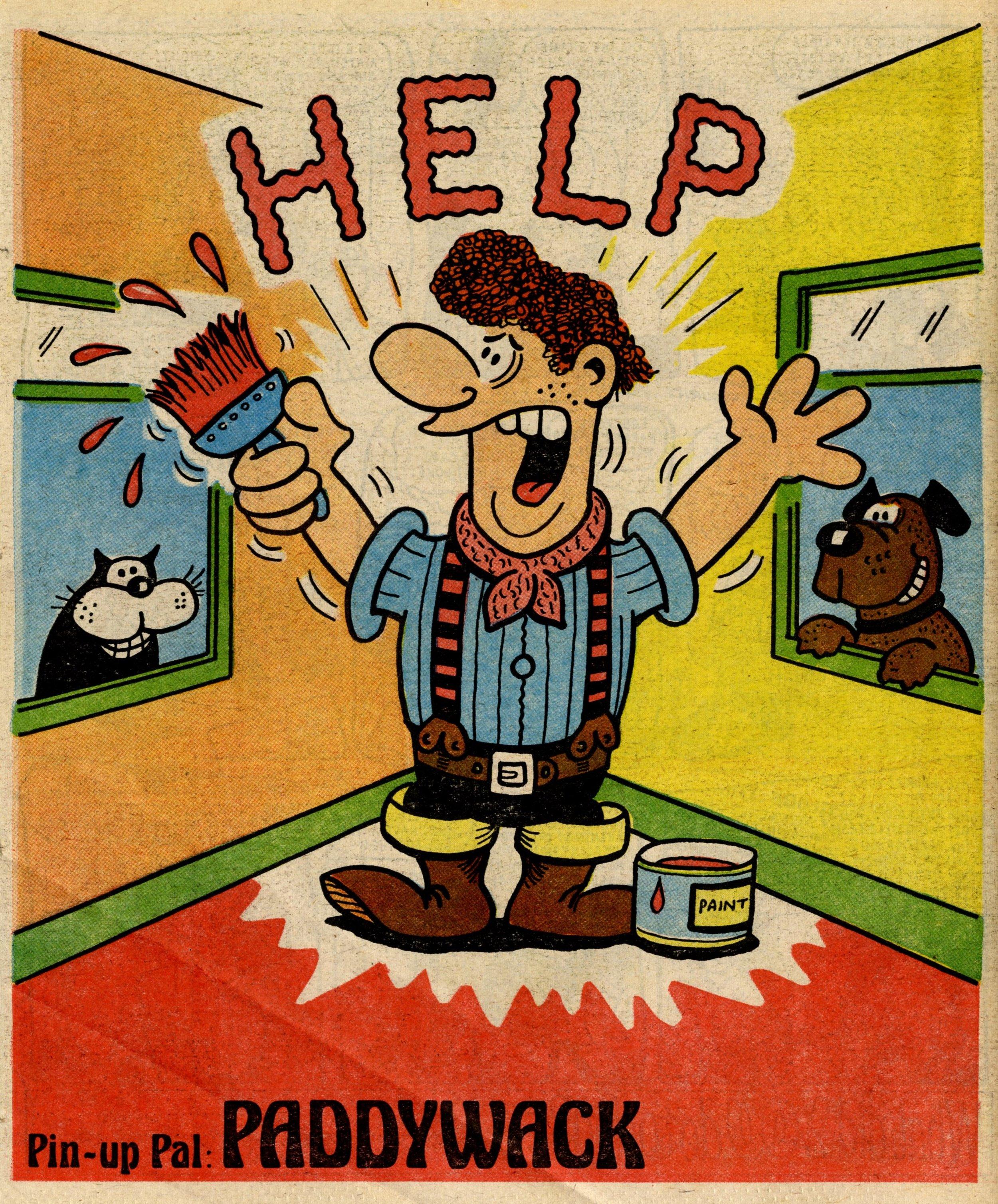 Pin-up Pal: Paddywack (artist Jack Clayton), 27 January 1979