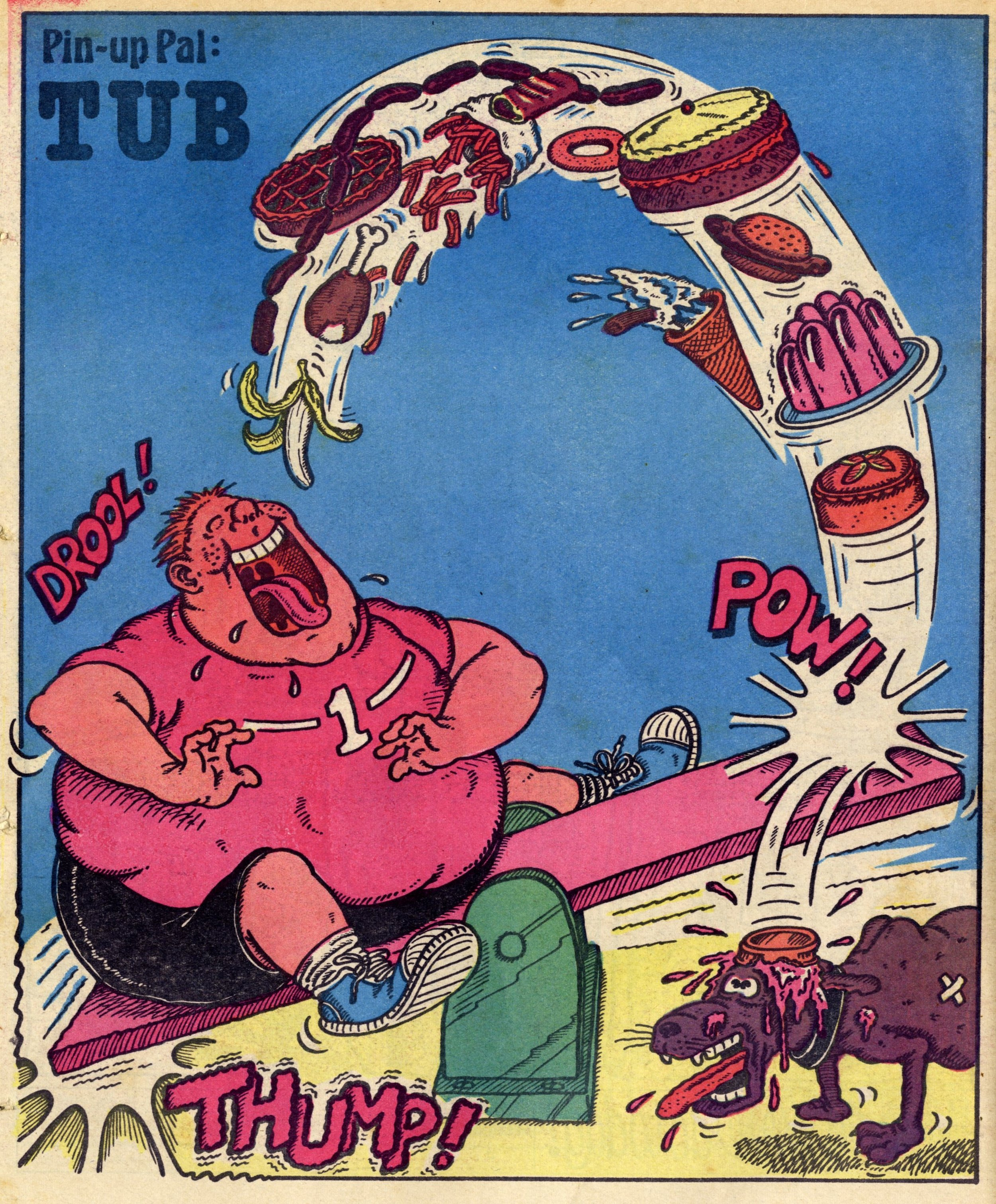 Pin-up Pal: Tub (artist Nigel Edwards), 3 February 1979