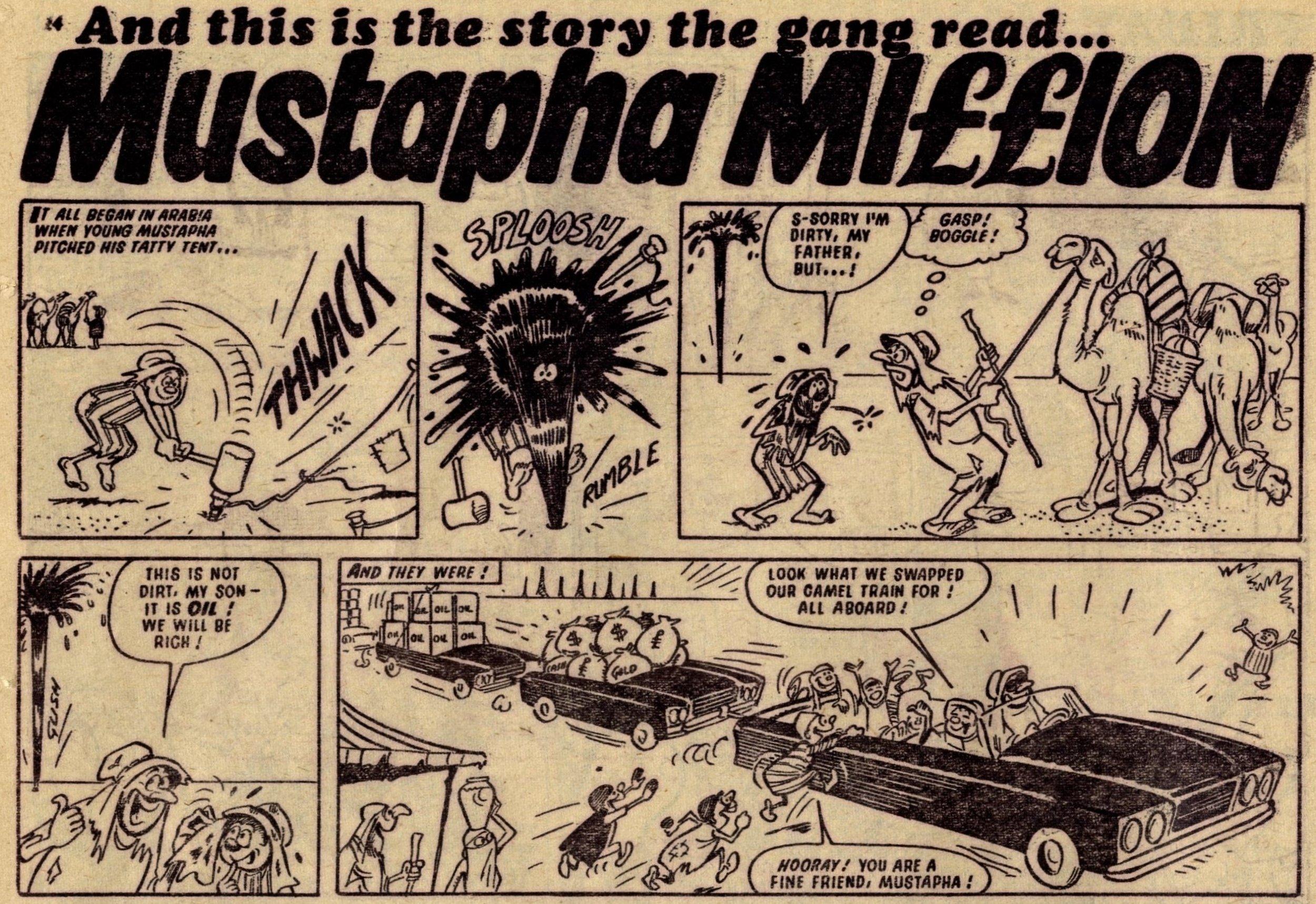 Mustapha Million: Reg Parlett (artist)