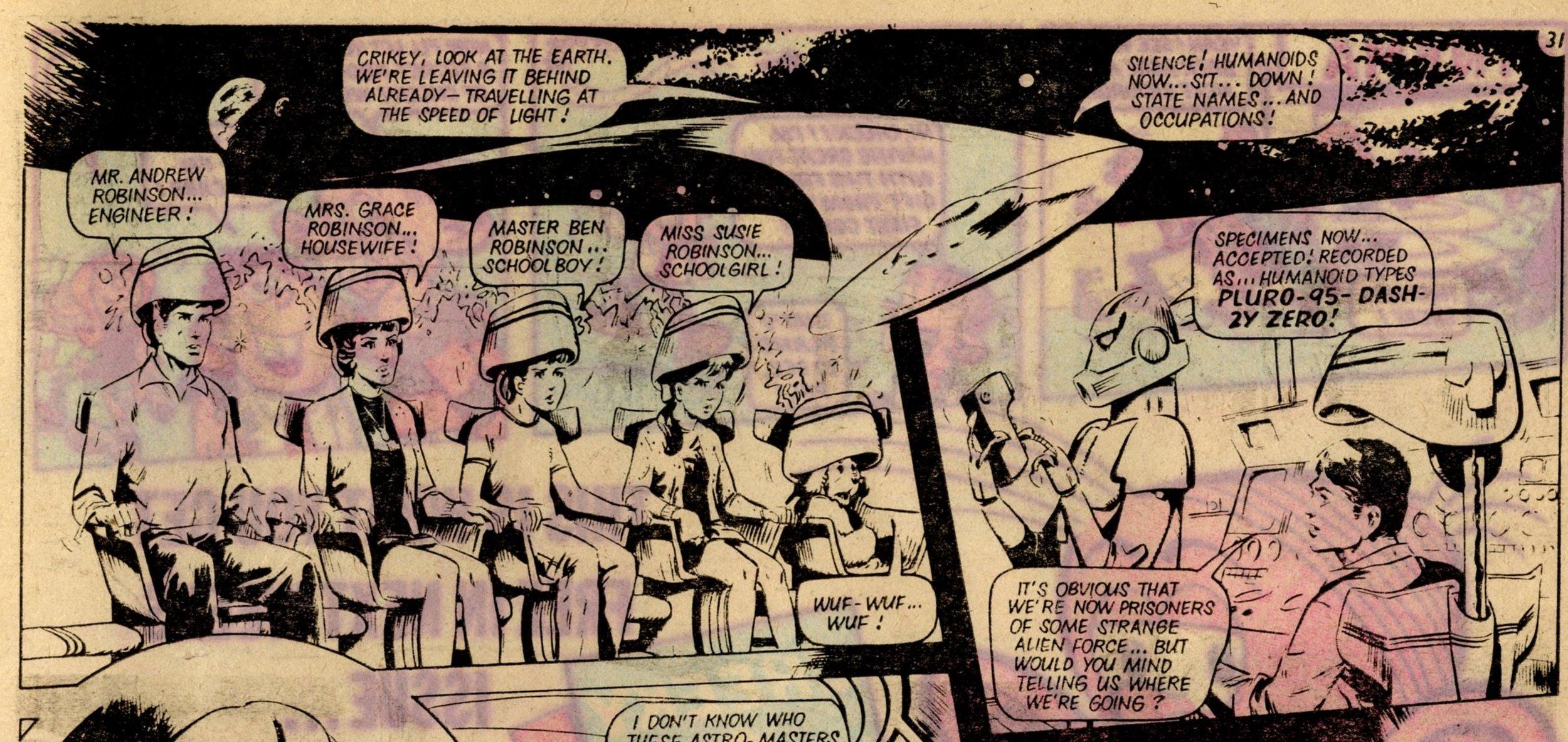 Space Family Robinson: John Richardson (artist)