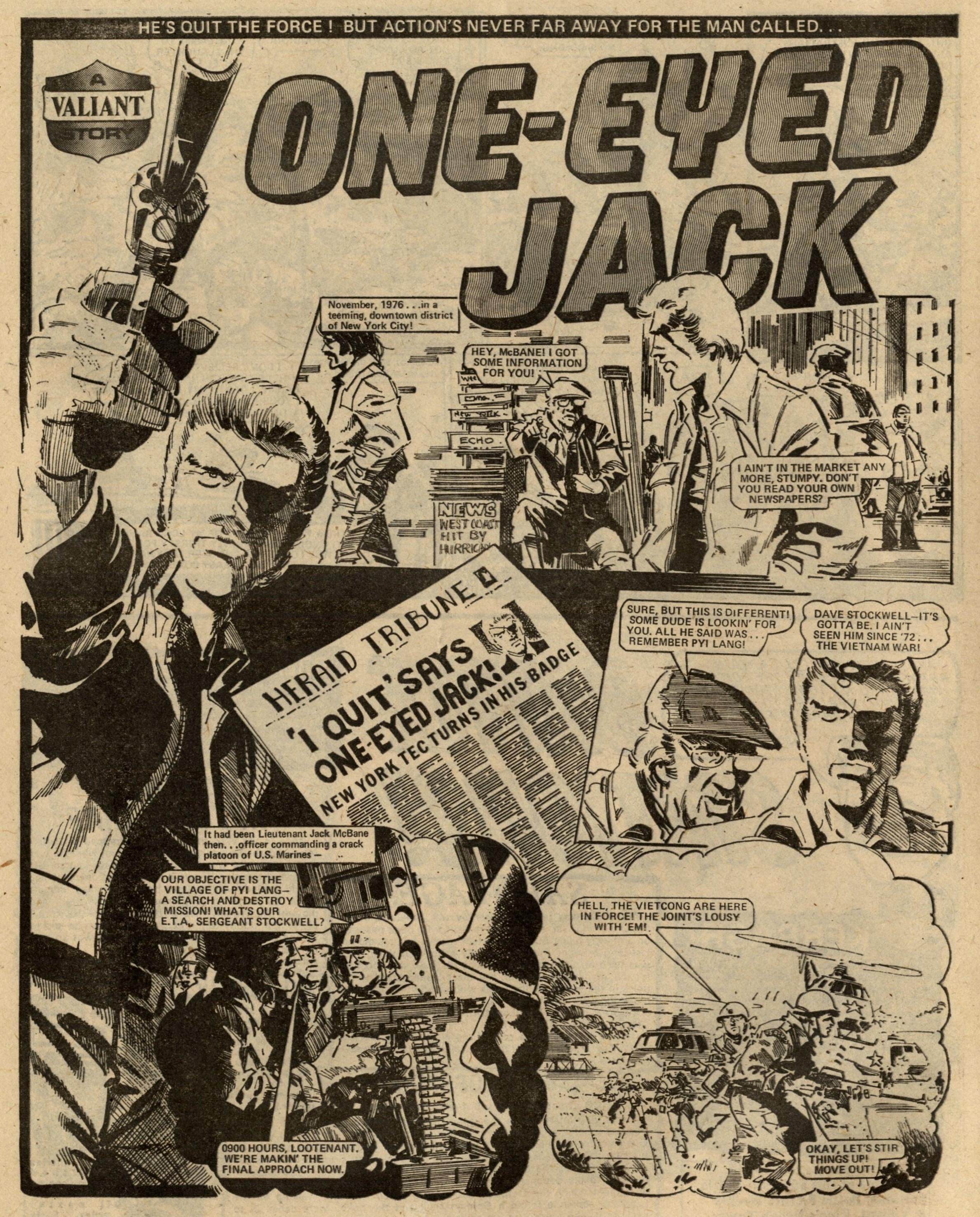 One-eyed Jack: Scott Goodall (writer), John Cooper (artist)