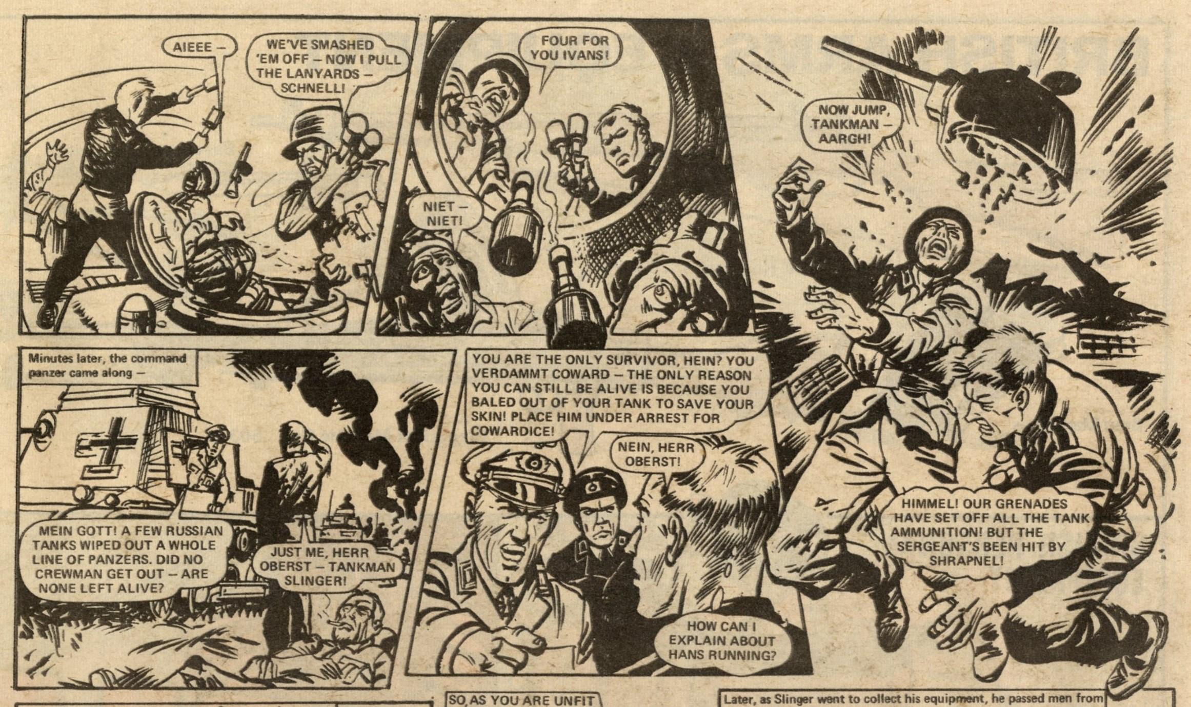 Panzer G-Man: Gerry Finley-Day (writer), Geoff Campion (artist)