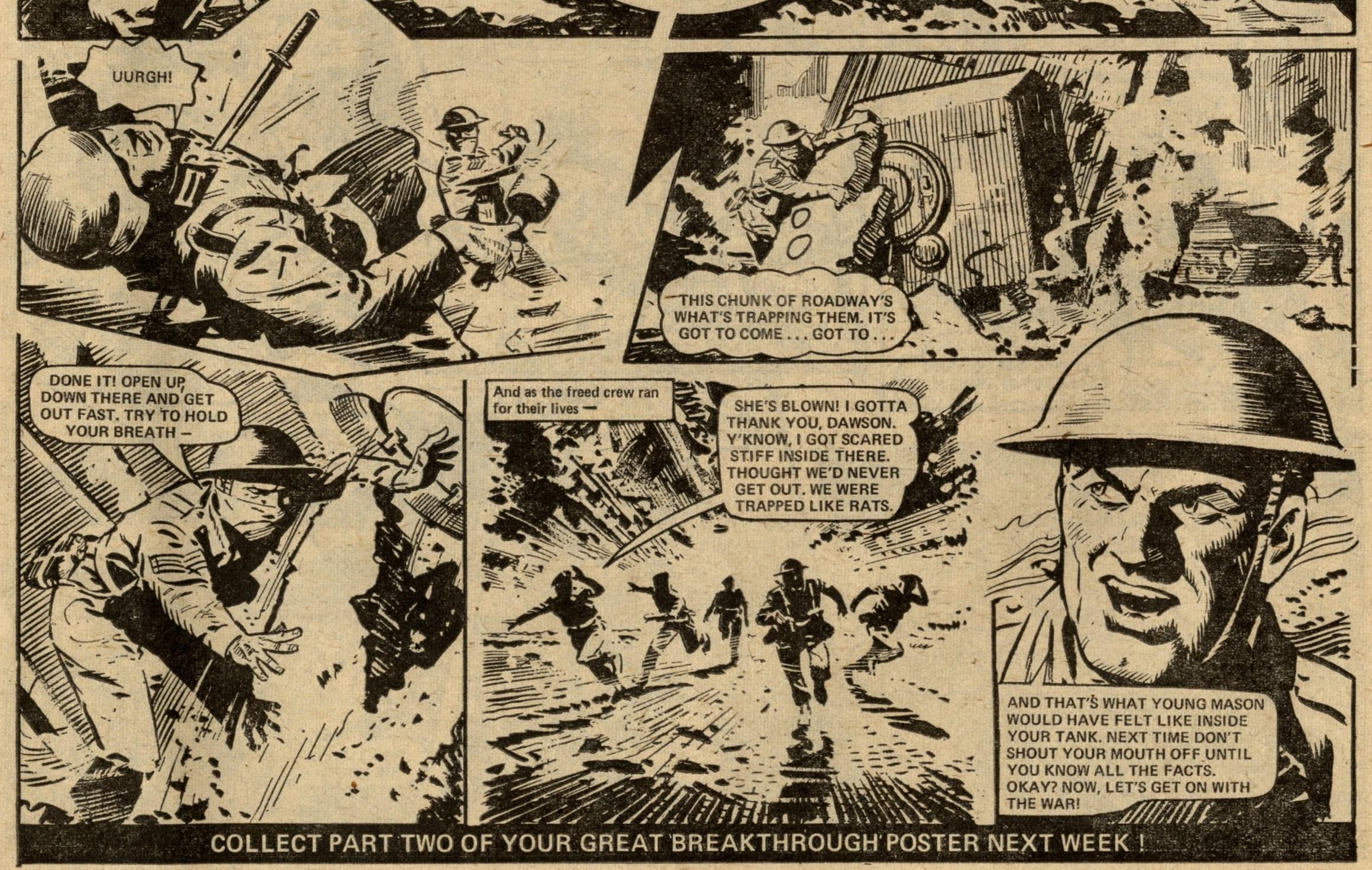 D-Day Dawson: Jim Watson? (artist), writer unknown