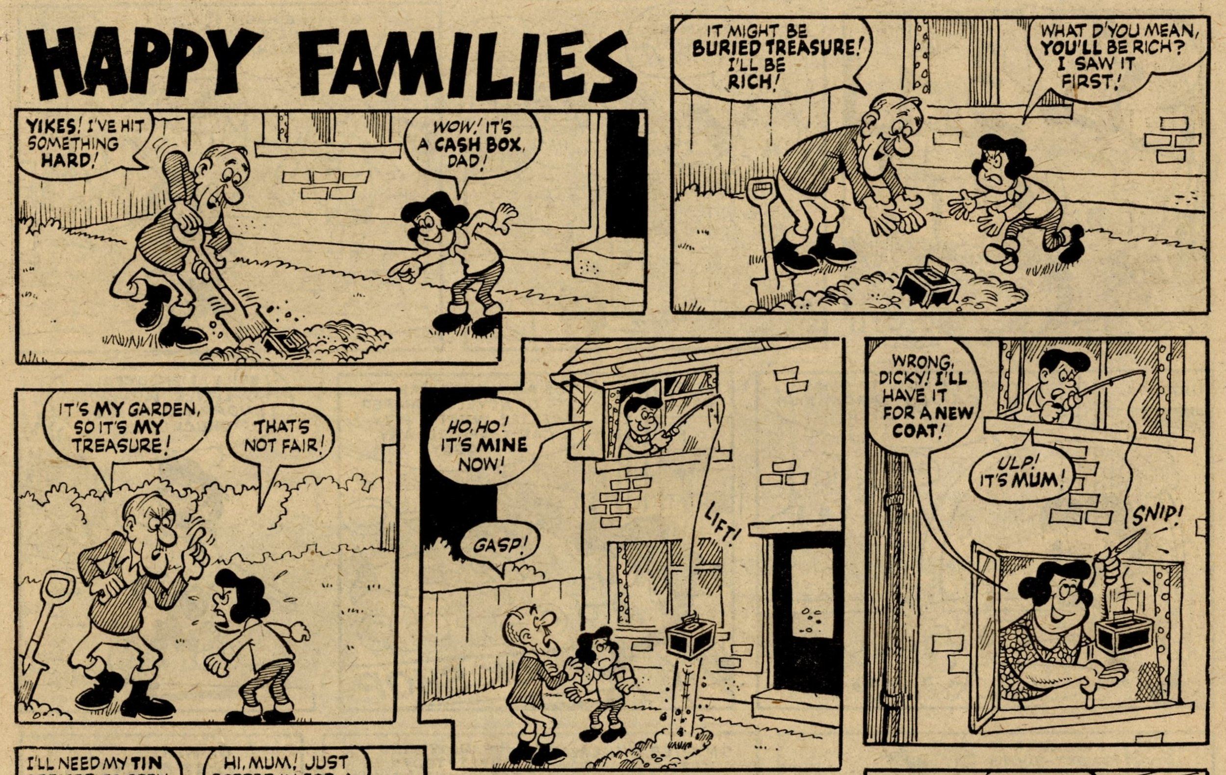 Happy Families: Dick Millington (artist)