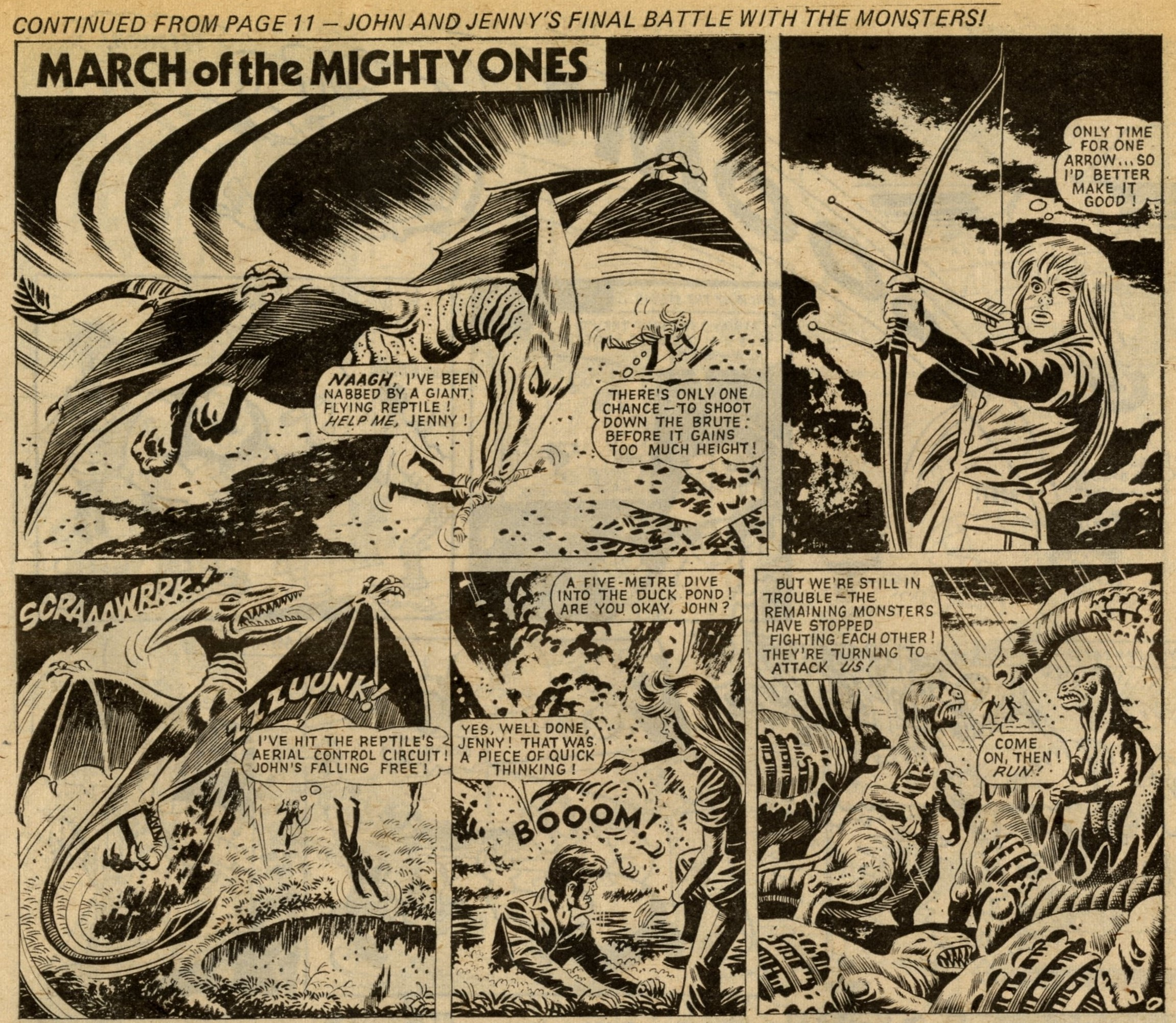 March of the Mighty Ones: Ron Turner (artist)