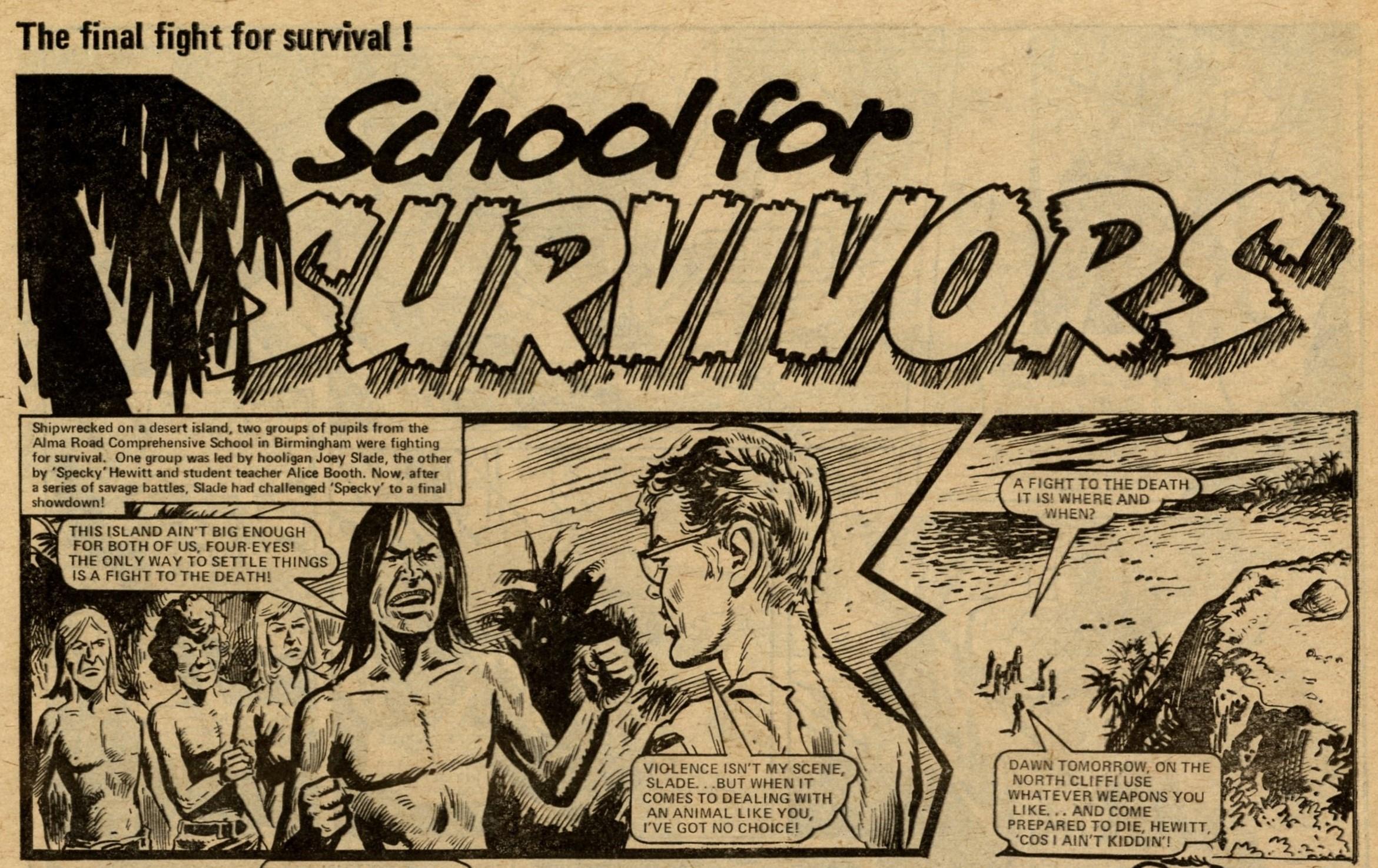 School for Survivors: Tony Harding? (artist)