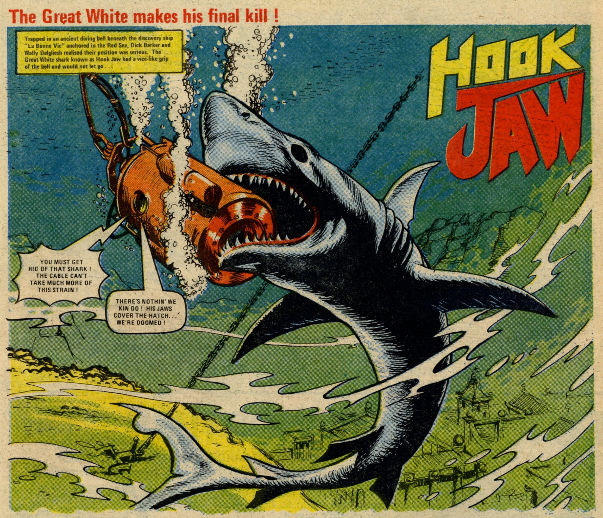 Hook Jaw: John Stokes (artist)