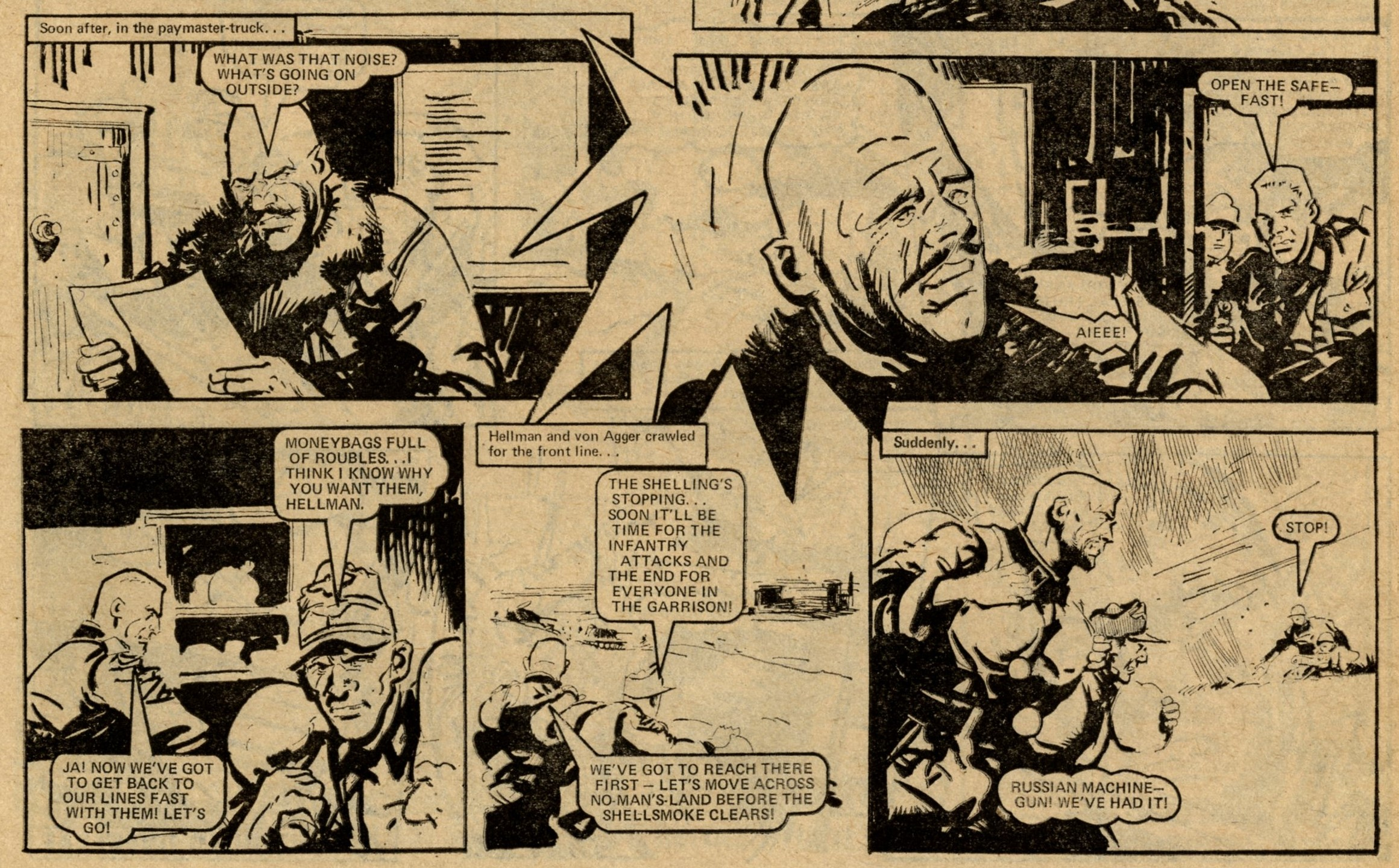 Hellman on the Russian Front: Gerry Finley-Day (writer), Jim Watson (artist)