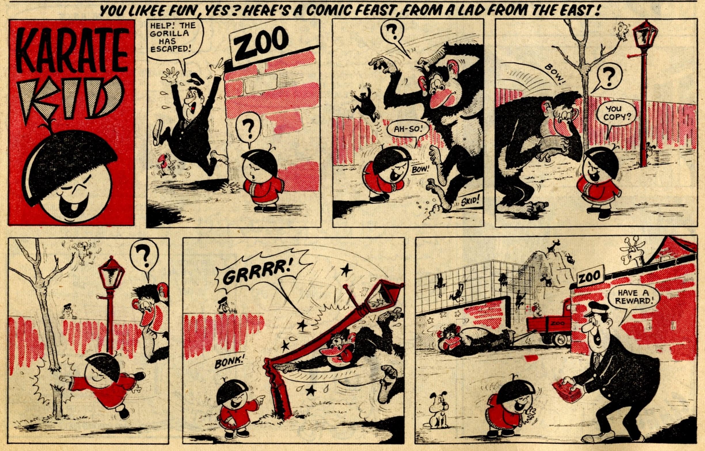 Karate Kid: Terry Bave (artist)