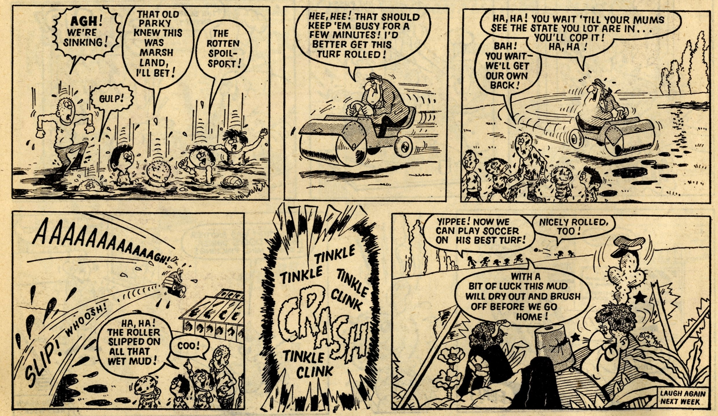 Parker the Parky: Terry Bave (artist)