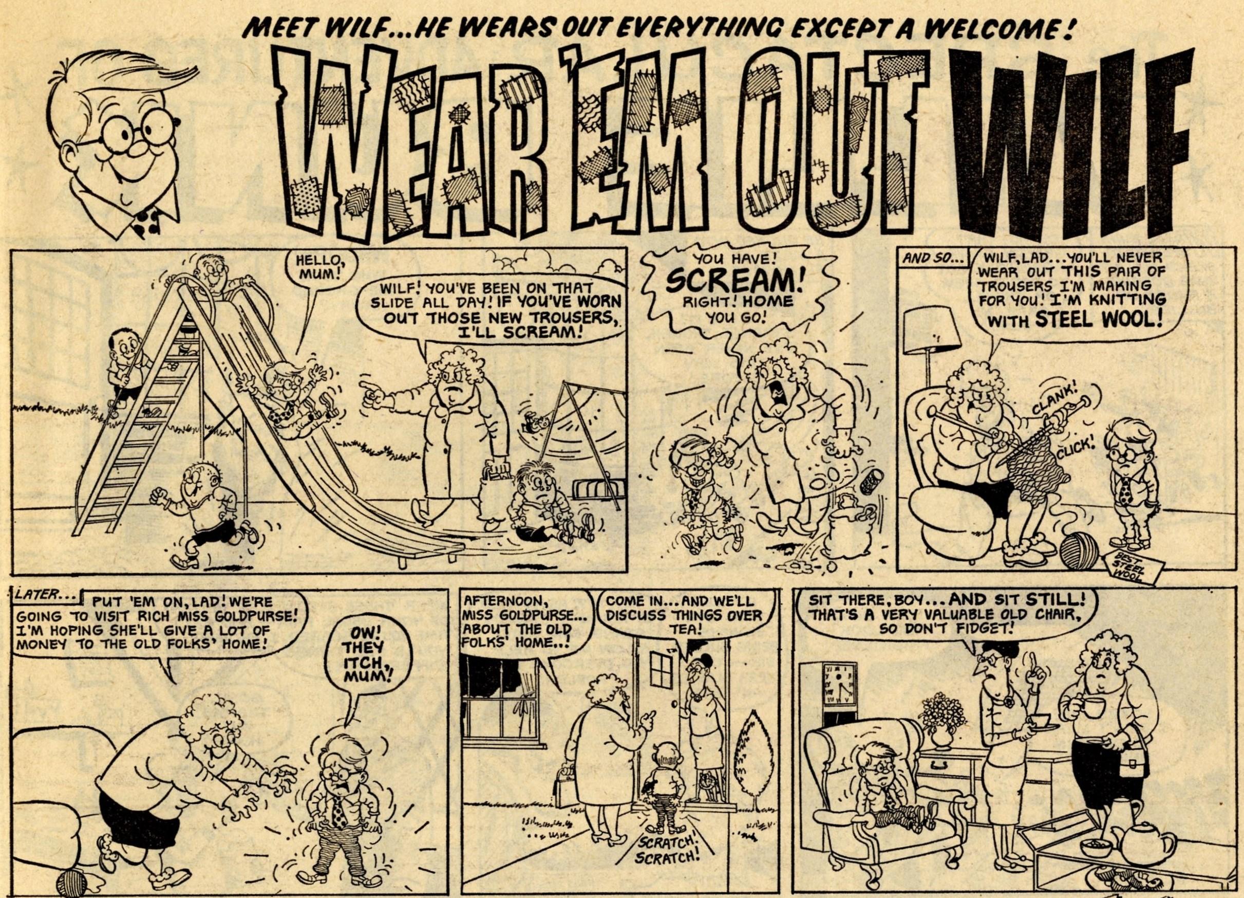Wear 'Em Out Wilf: Norman Mansbridge (artist)