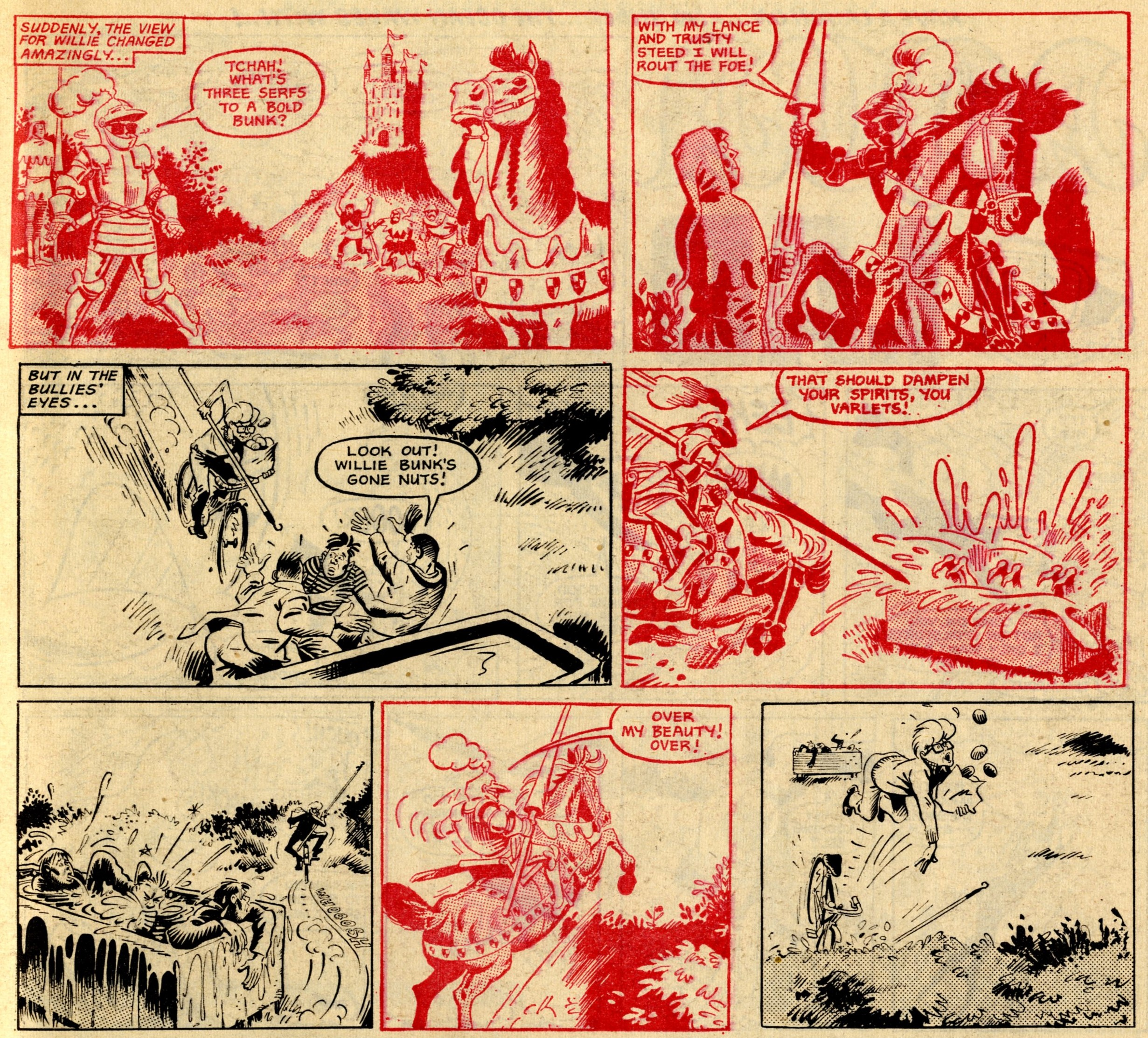 The Spectacular Adventures of Willy Bunk: Frank McDiarmid (artist)