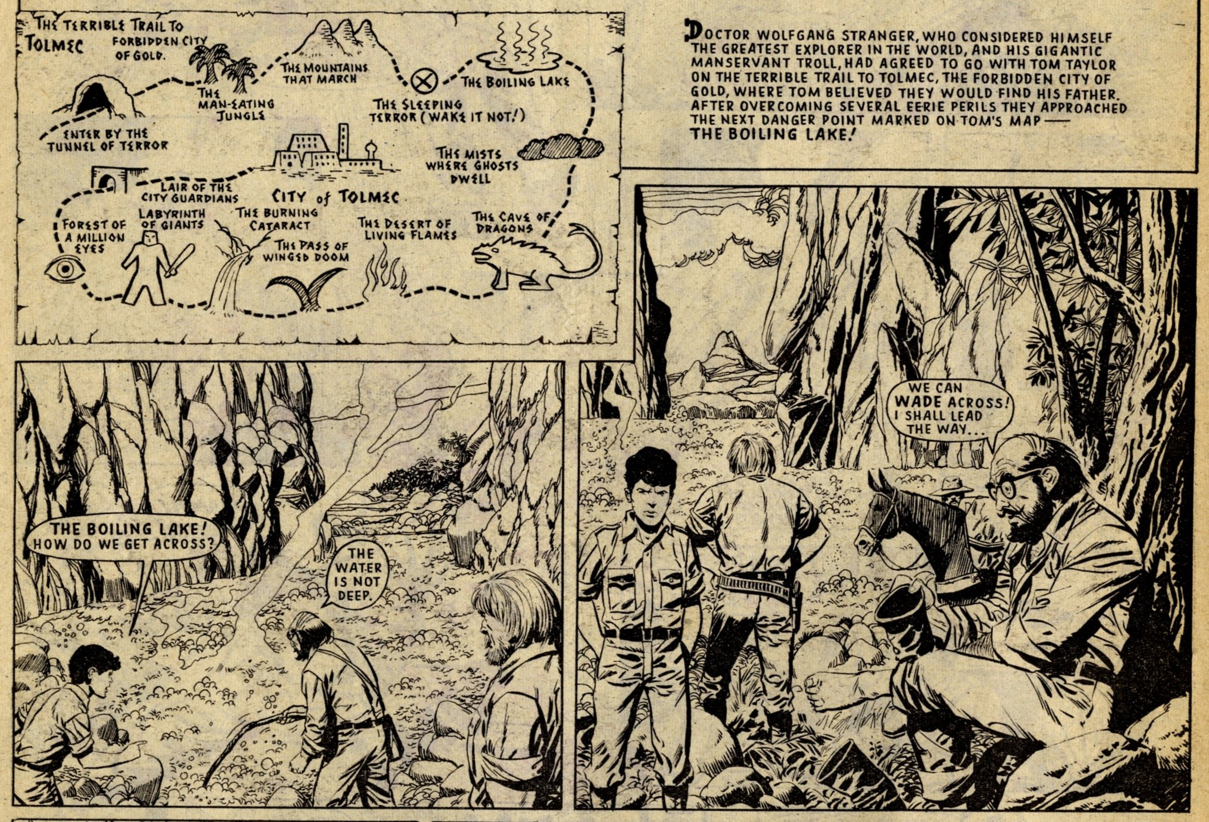 The Terrible Trail to Tolmec: Massimo Belardinelli (artist)