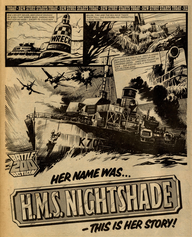H.M.S. Nightshade: John Wagner (writer), Mike Western (artist)