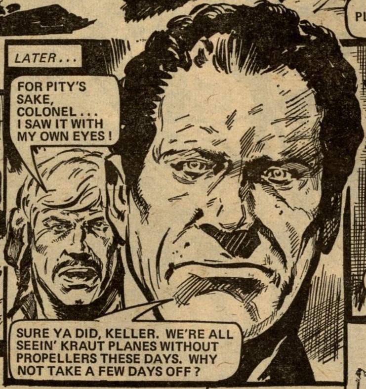 Crazy Keller: Alan Hebden (writer), Eric Bradbury (artist)
