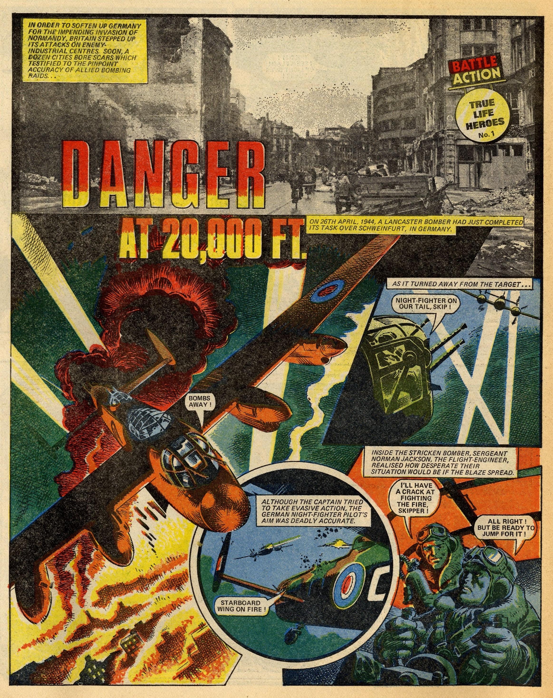 True Life Heroes: Danger at 20,000 Ft.: creators unknown
