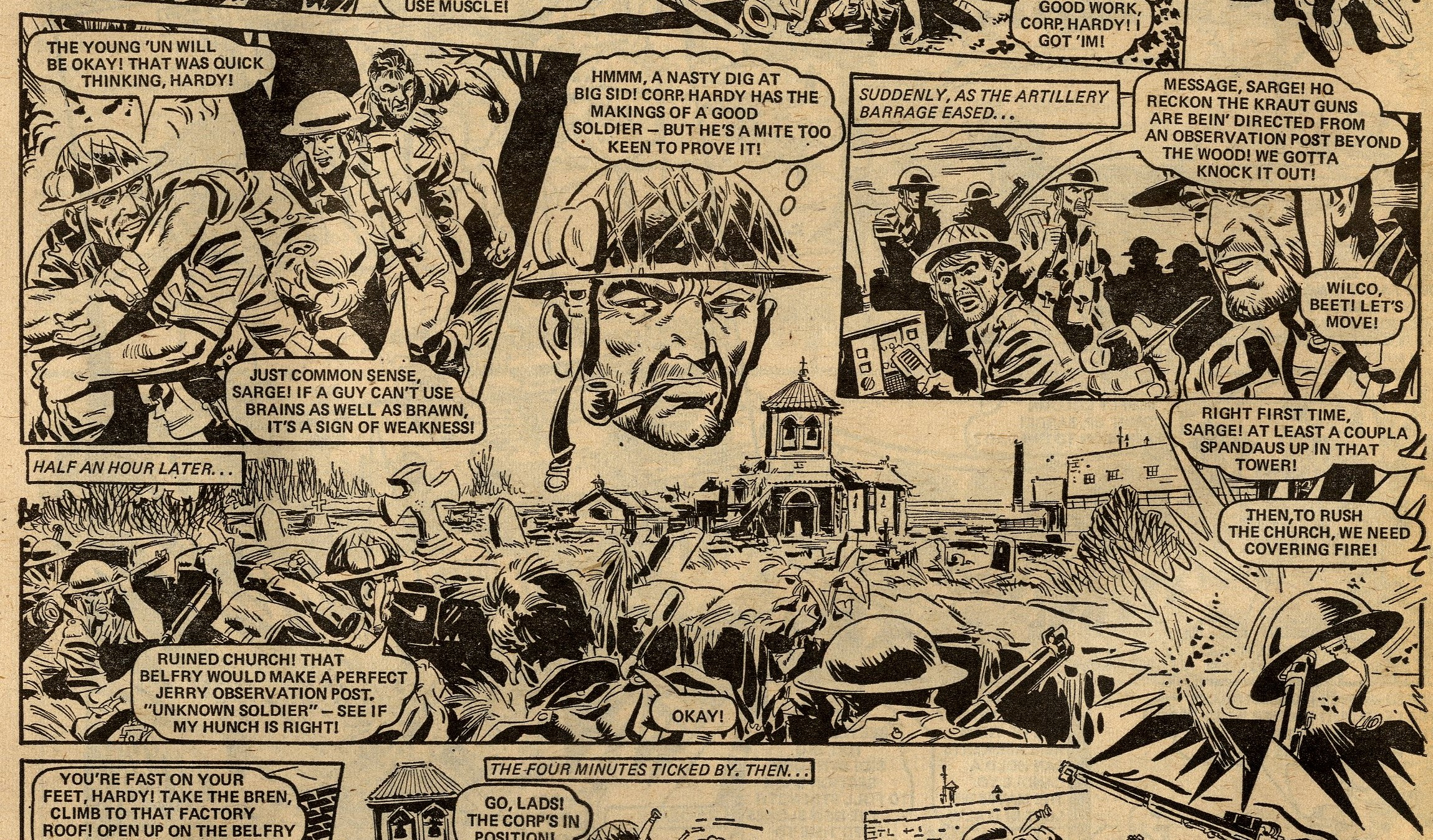 The Sarge: Scott Goodall (writer), Phil Gascoine (artist)