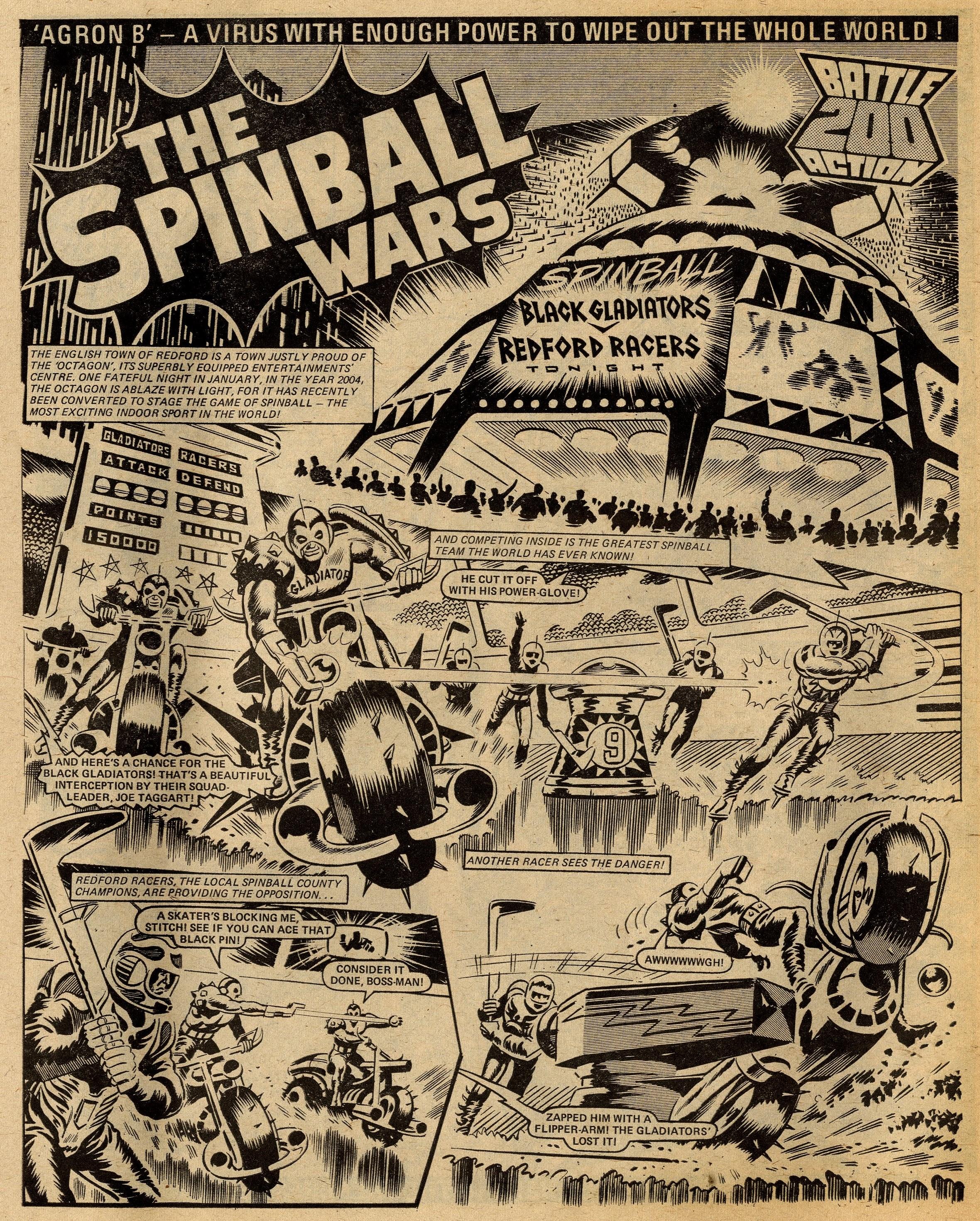 The Spinball Wars: Tom Tully (writer), Ron Turner (artist)