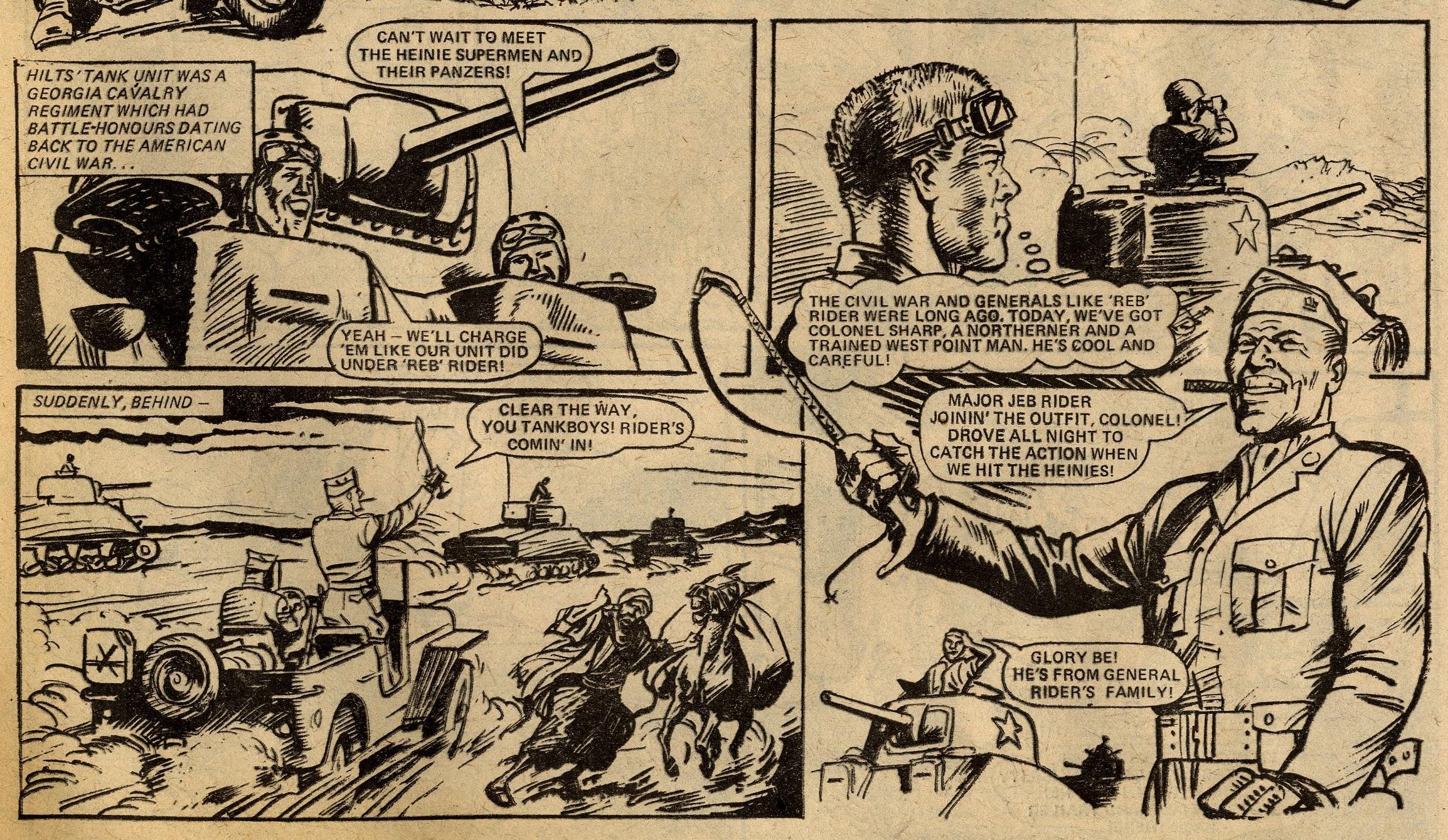 Glory Rider: Gerry Finley-Day (writer), Geoff Campion (artist)