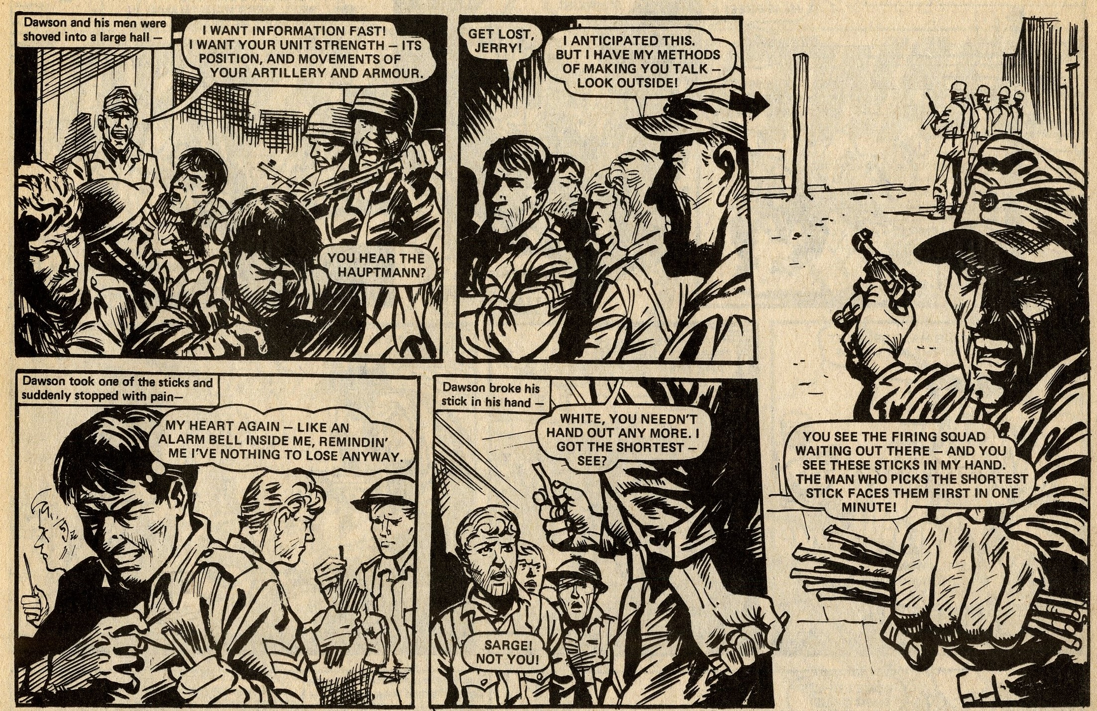 D-Day Dawson: 'Execution Squad!': John Wagner and Pat Mills (writers), Geoff Campion (artist)