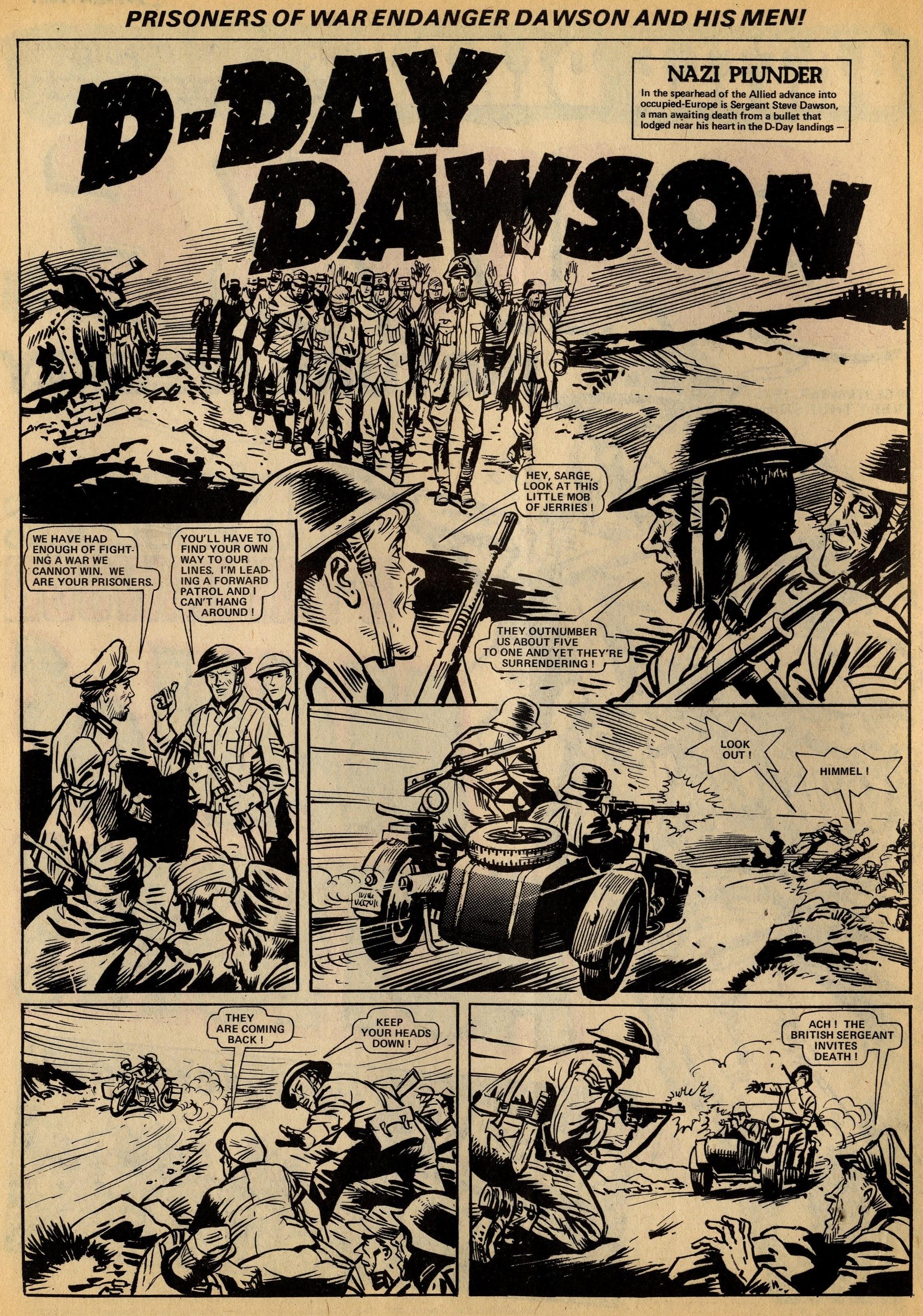 D-Day Dawson: 'Nazi Plunder': Ron Carpenter (writer), Geoff Campion (artist)