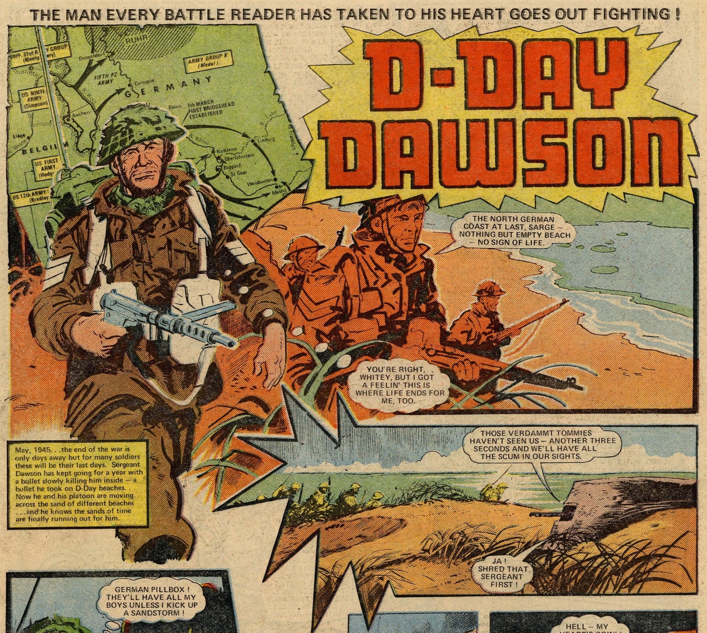 D-Day Dawson: untitled: Gerry Finley-Day (writer), Jim Watson (artist)