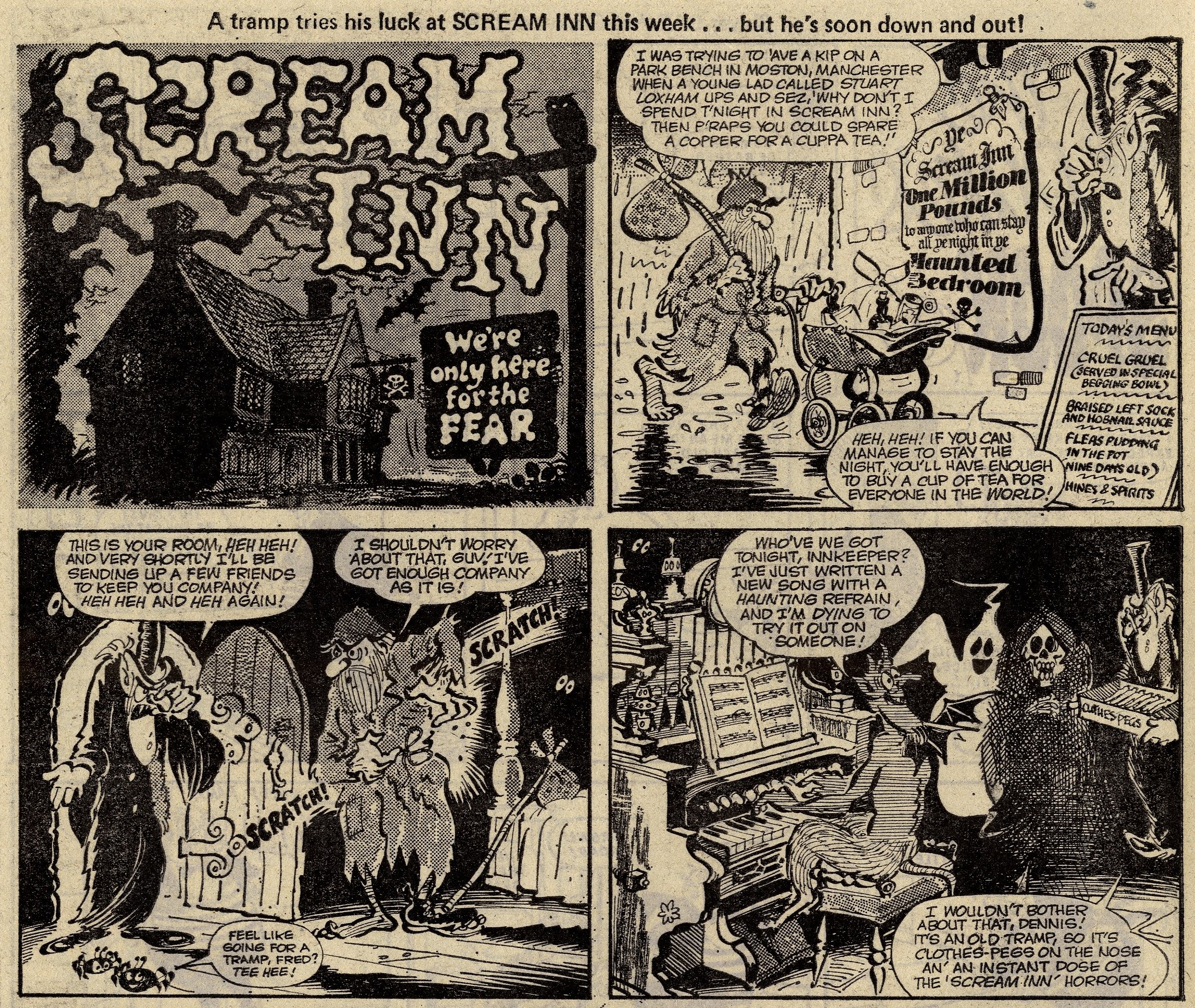 Scream Inn: Brian Walker (artist)