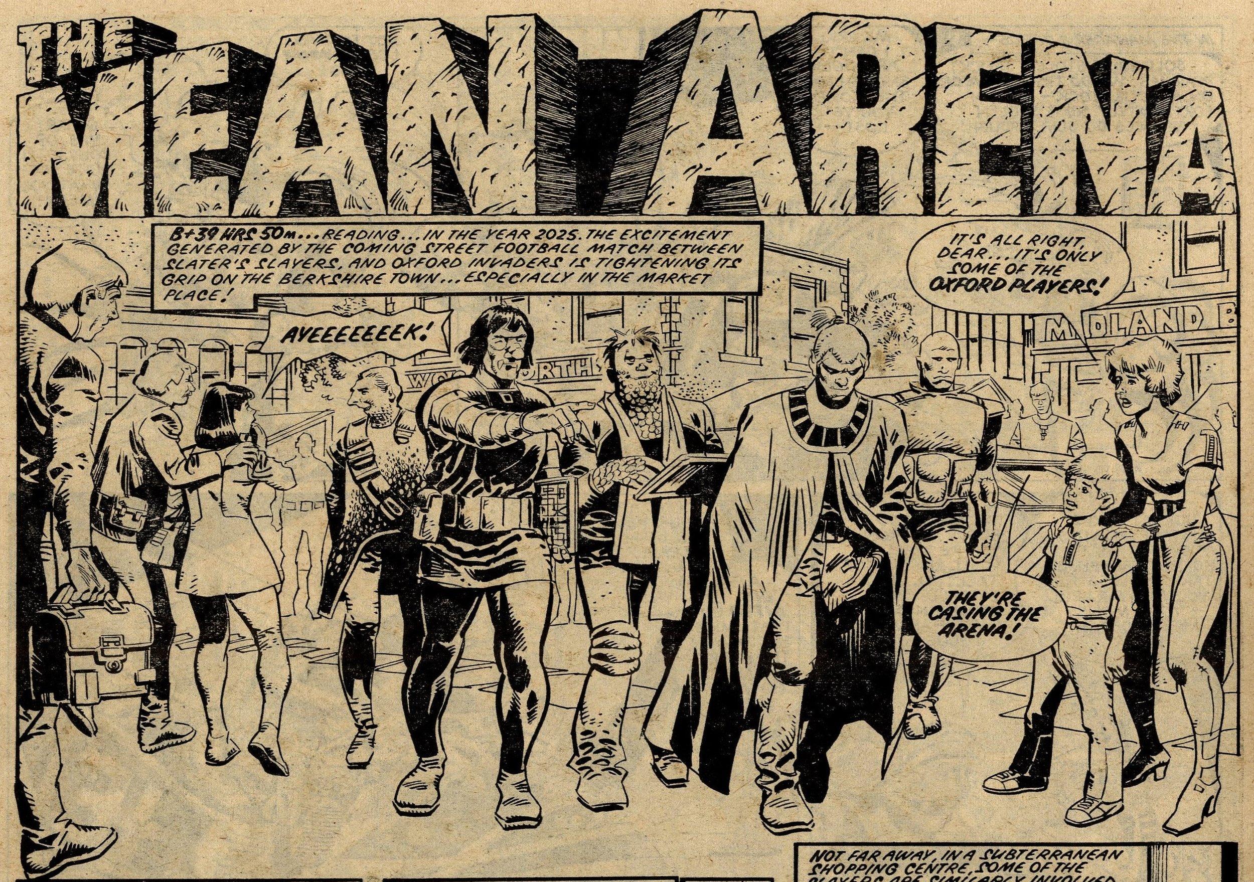 The Mean Arena: A Ridgeway (writer), Mike White (artist)
