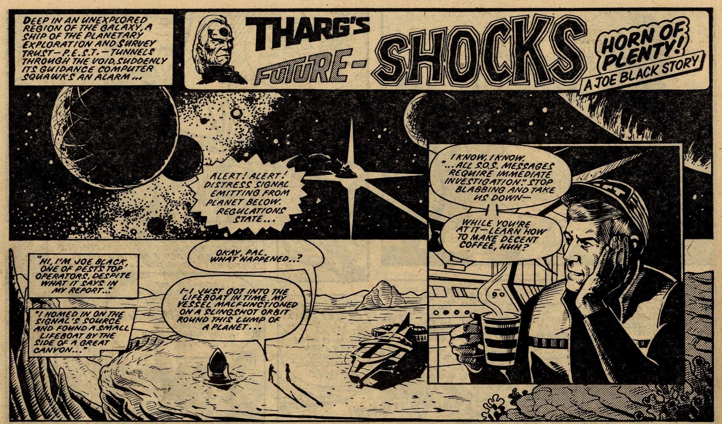 Tharg's Future Shocks: The Horn of Plenty!: Kelvin Gosnell (writer), John Higgins (artist)