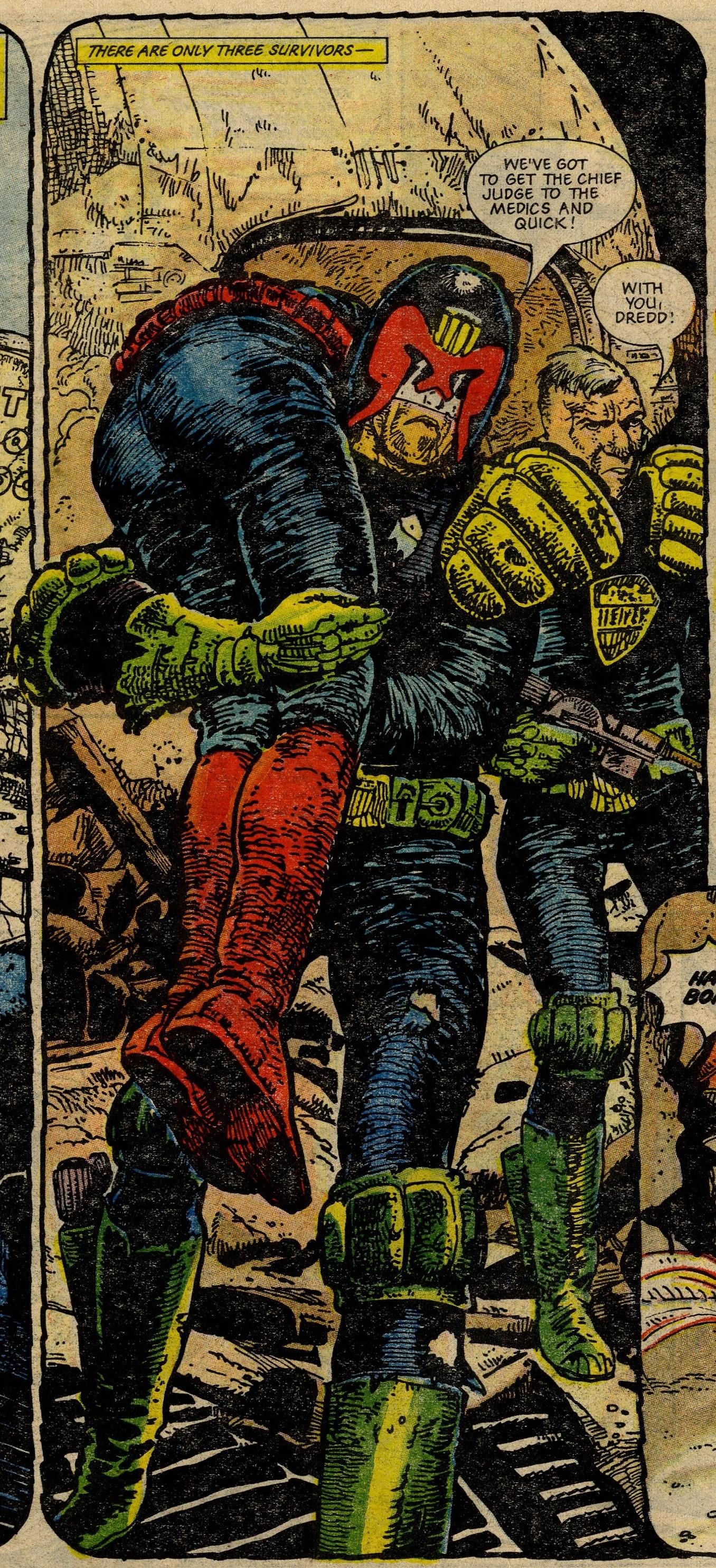 Judge Dredd: The Apocalypse War: John Wagner and Alan Grant (writers), Carlos Ezquerra (artist)