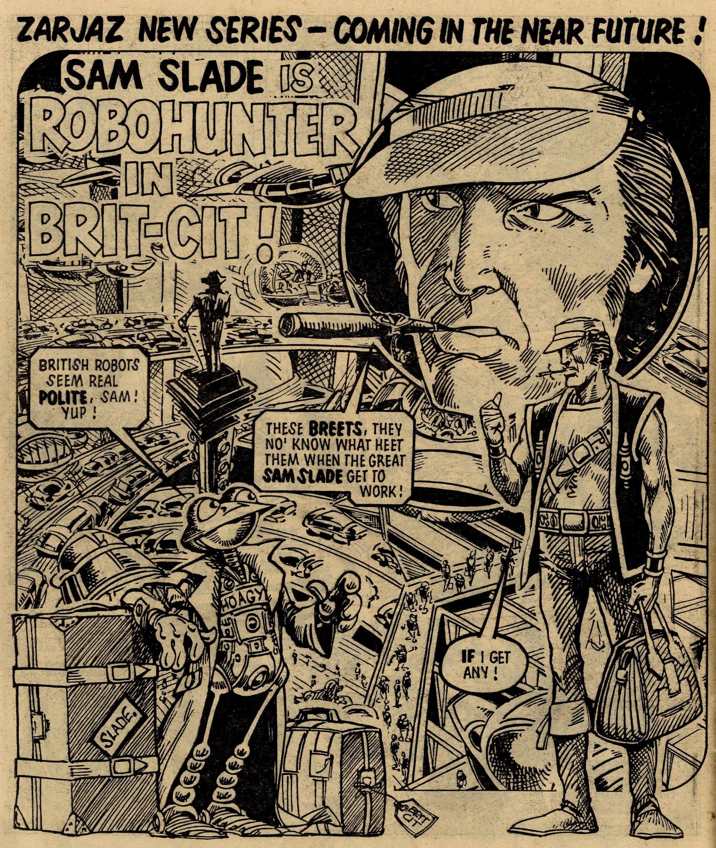Robo Hunter preview: Ian Gibson (artist)
