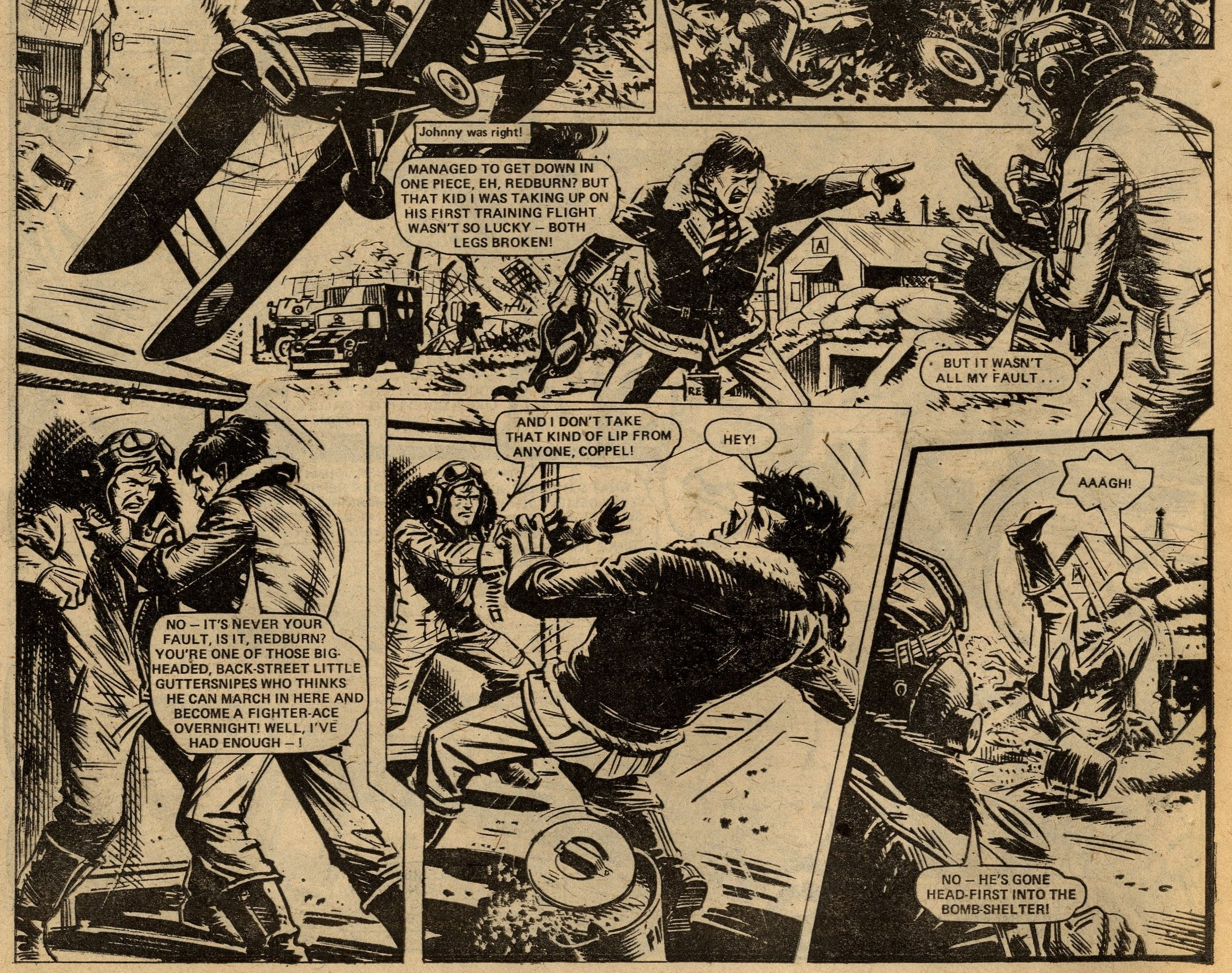 Johnny Red: Tom Tully (writer), Joe Colquhoun (artist)