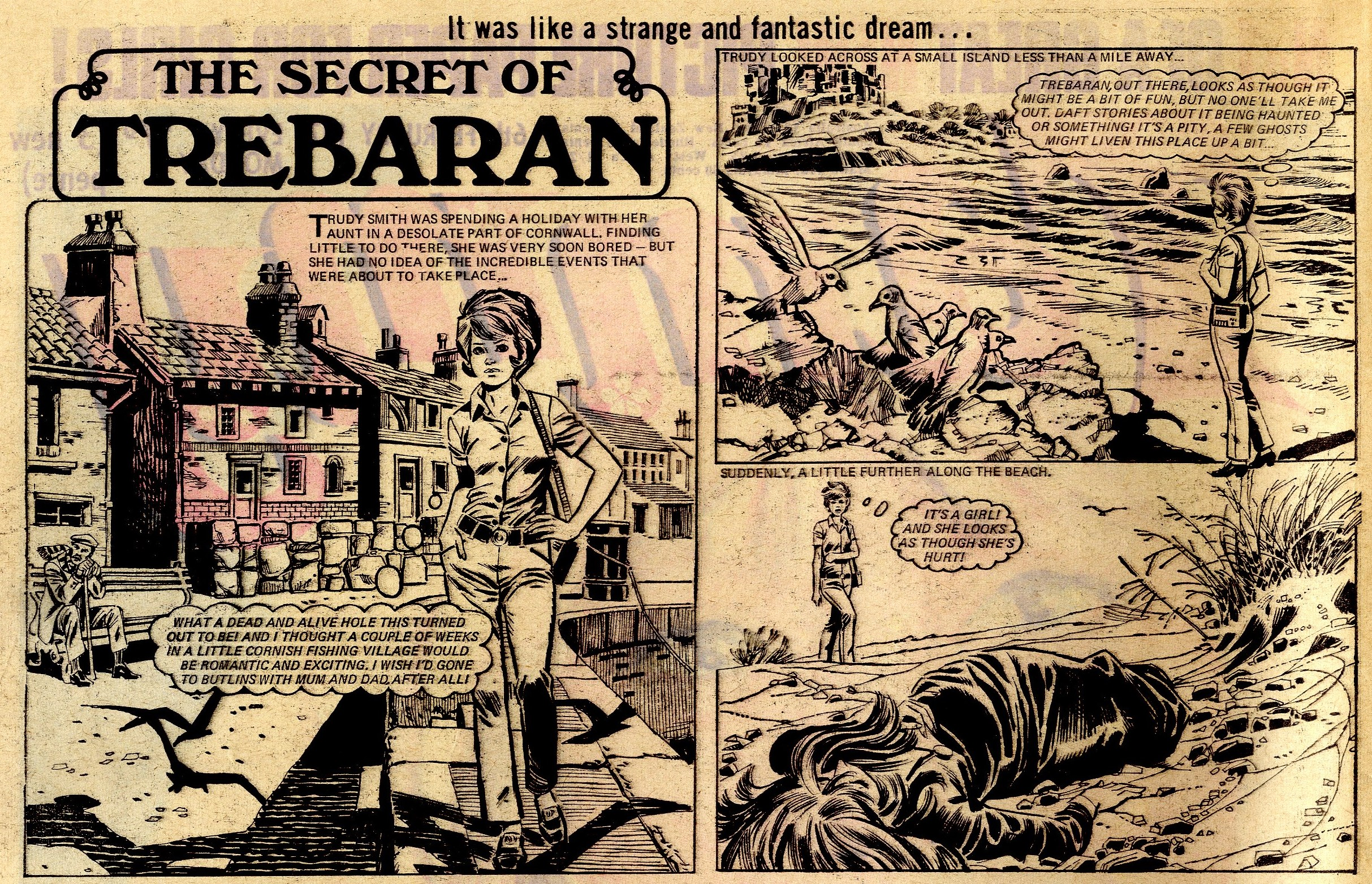 The Secret of Trebaran:   Giorgio Cambiotti  (artist)