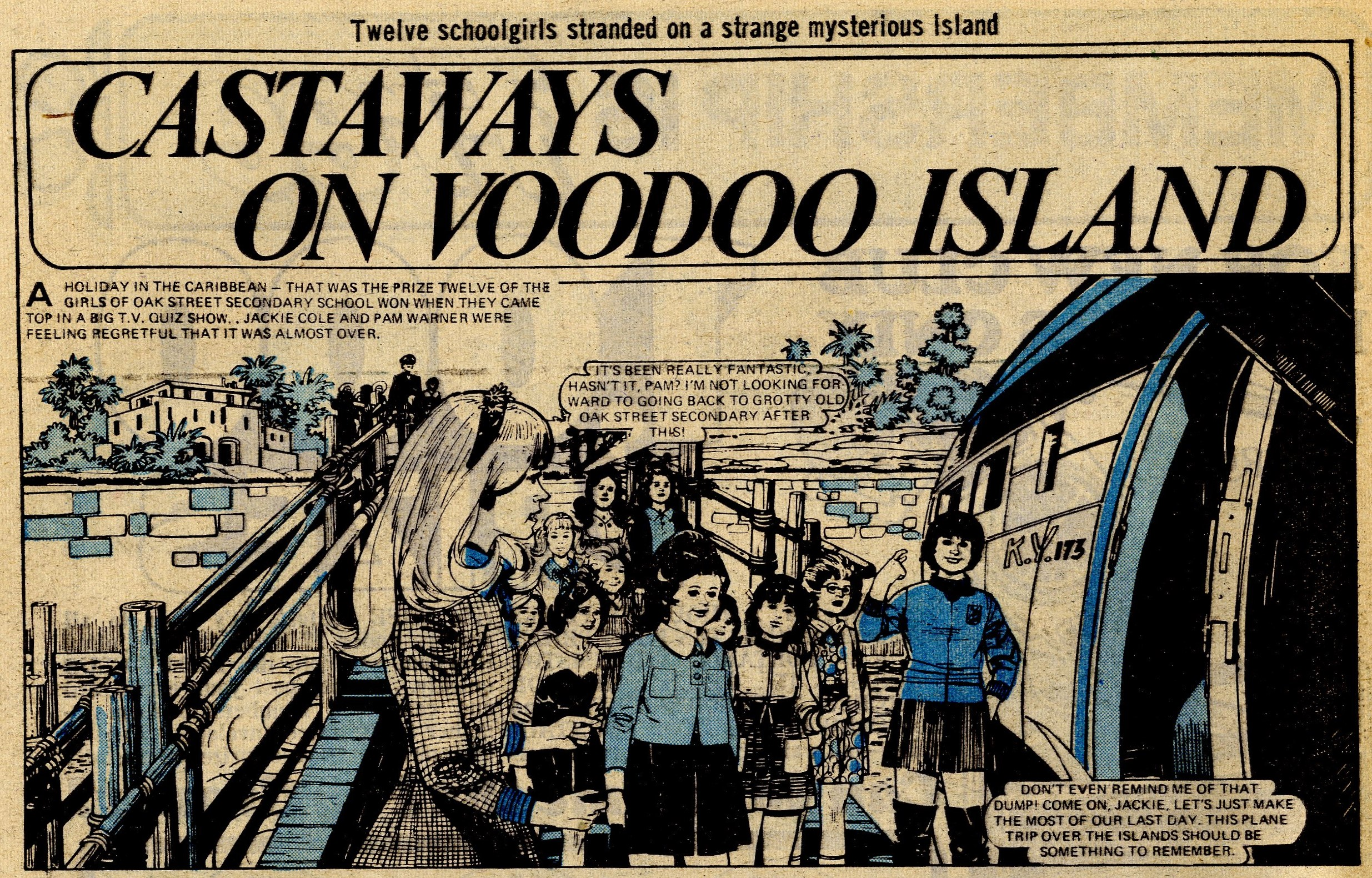 Castaways on Voodoo Island: Ken Houghton (artist)