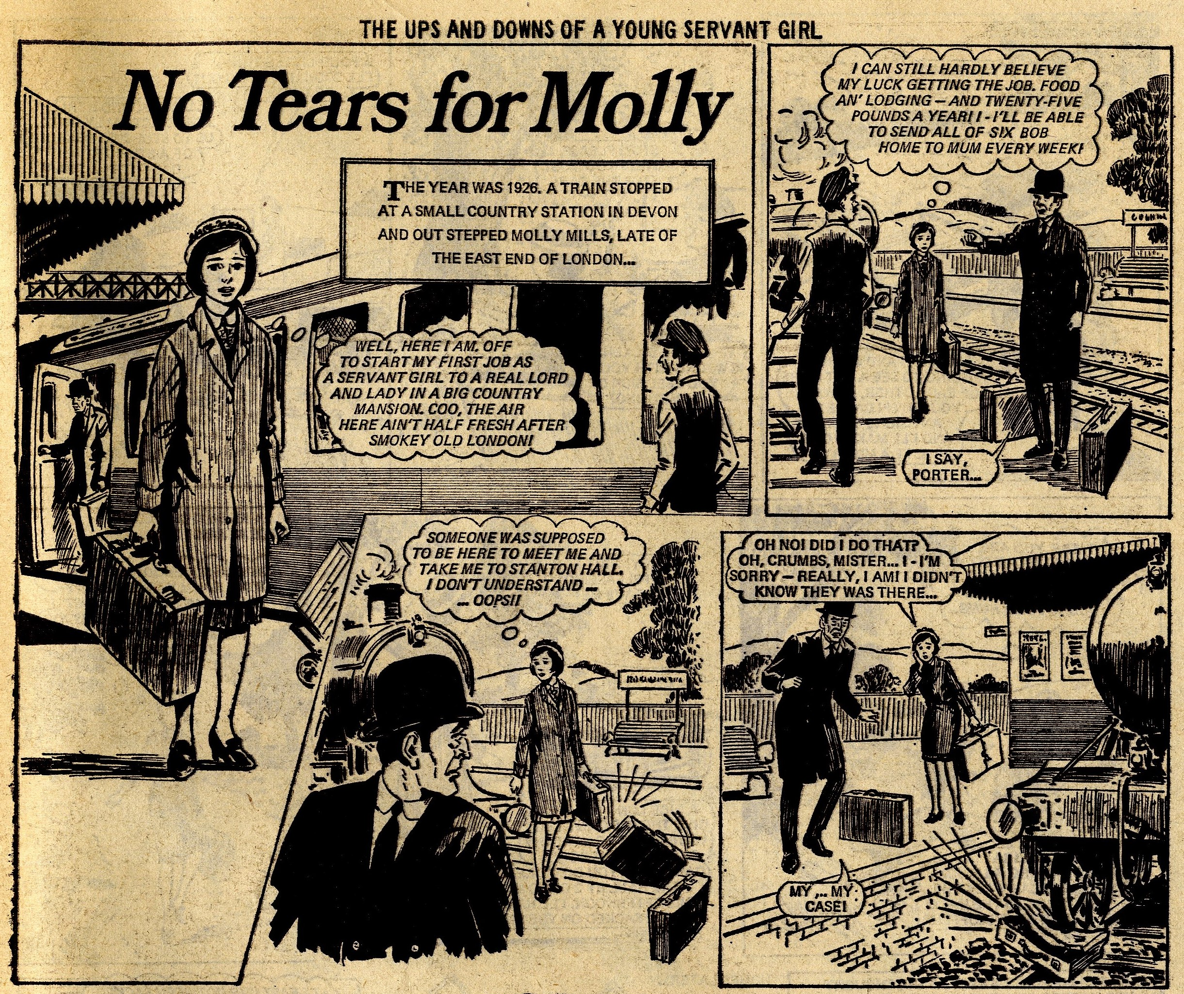 No Tears for Molly: Maureen Spurgeon (writer), Tony Thewennetti (artist)