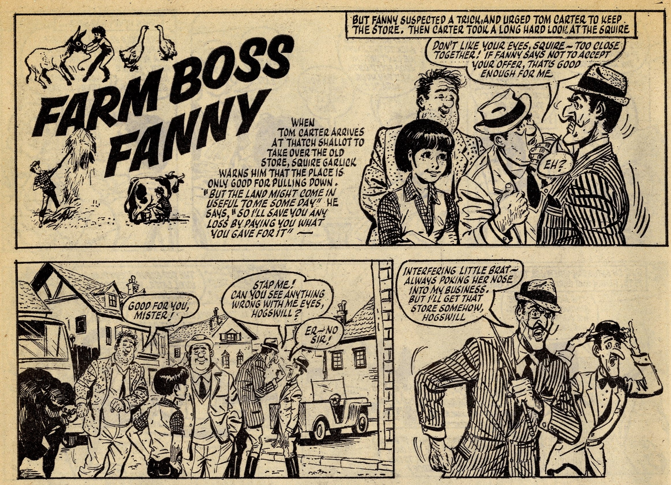 Farm Boss Fanny: artist unknown