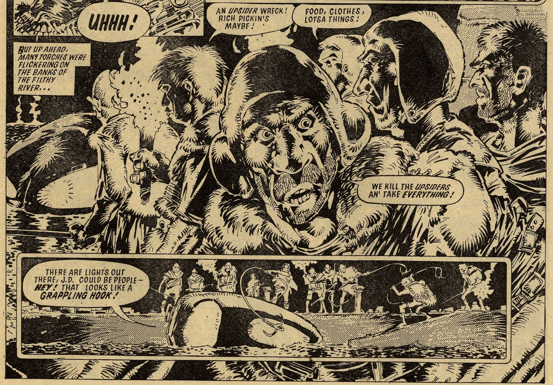 Judge Dredd: 'The Day the Law Died': John Wagner (writer), Mike McMahon (artist)